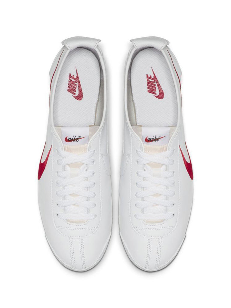 White / Varsity Red/ Game Royal Nike Cortez '72 Shoedog Q (Swoosh) 513570587754573