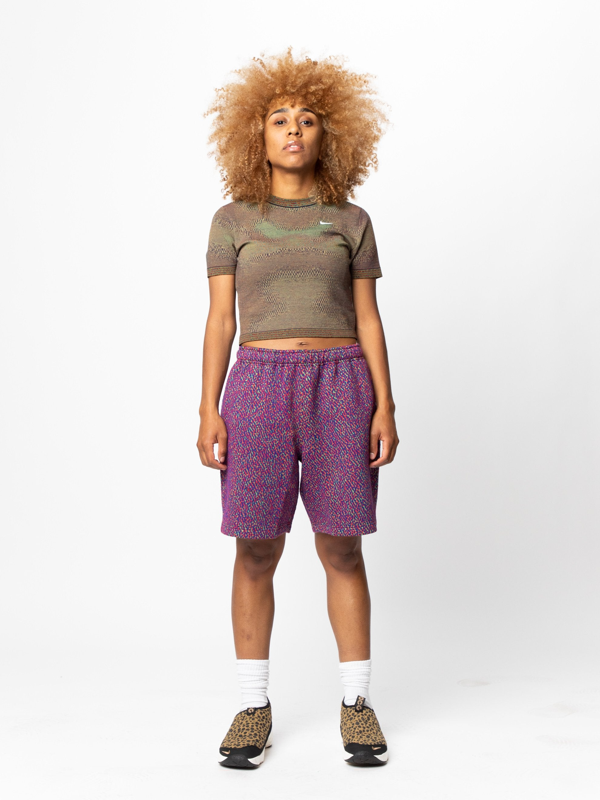 Black Women's Nike Made In Italy Short Sleeve Top 3