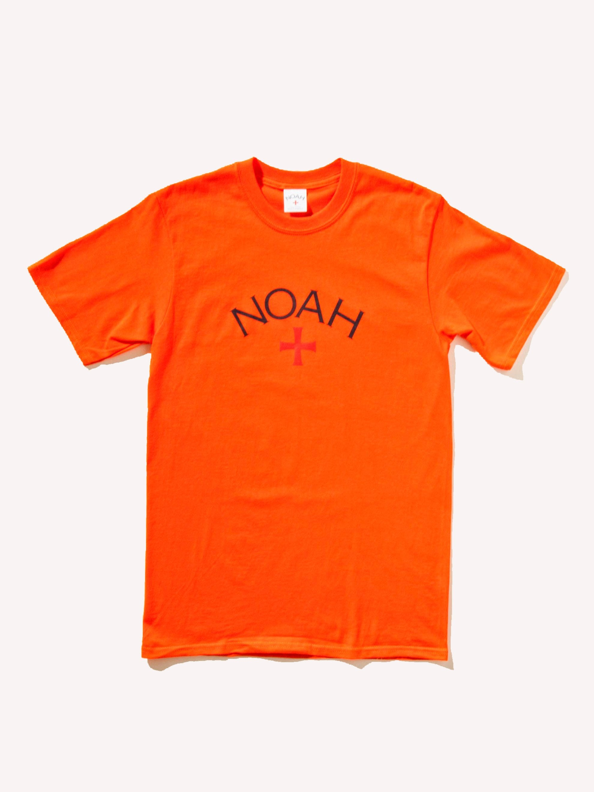 Deep Navy NOAH Core Logo T-Shirt 11