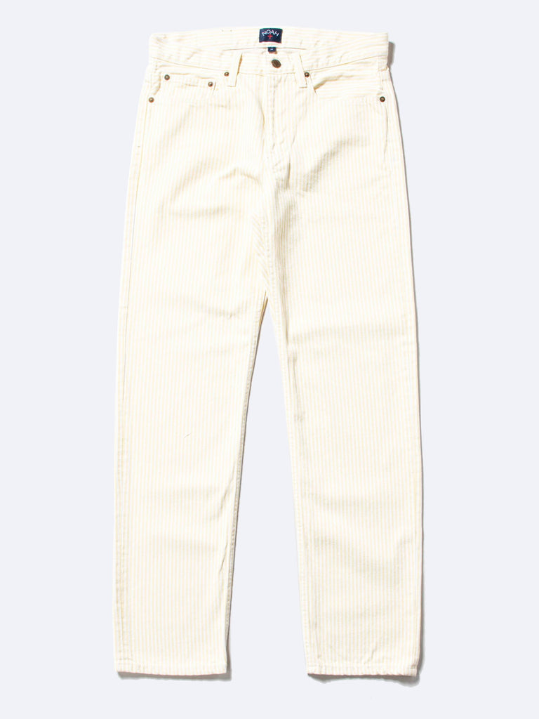 Stripe 5-Pocket Jean