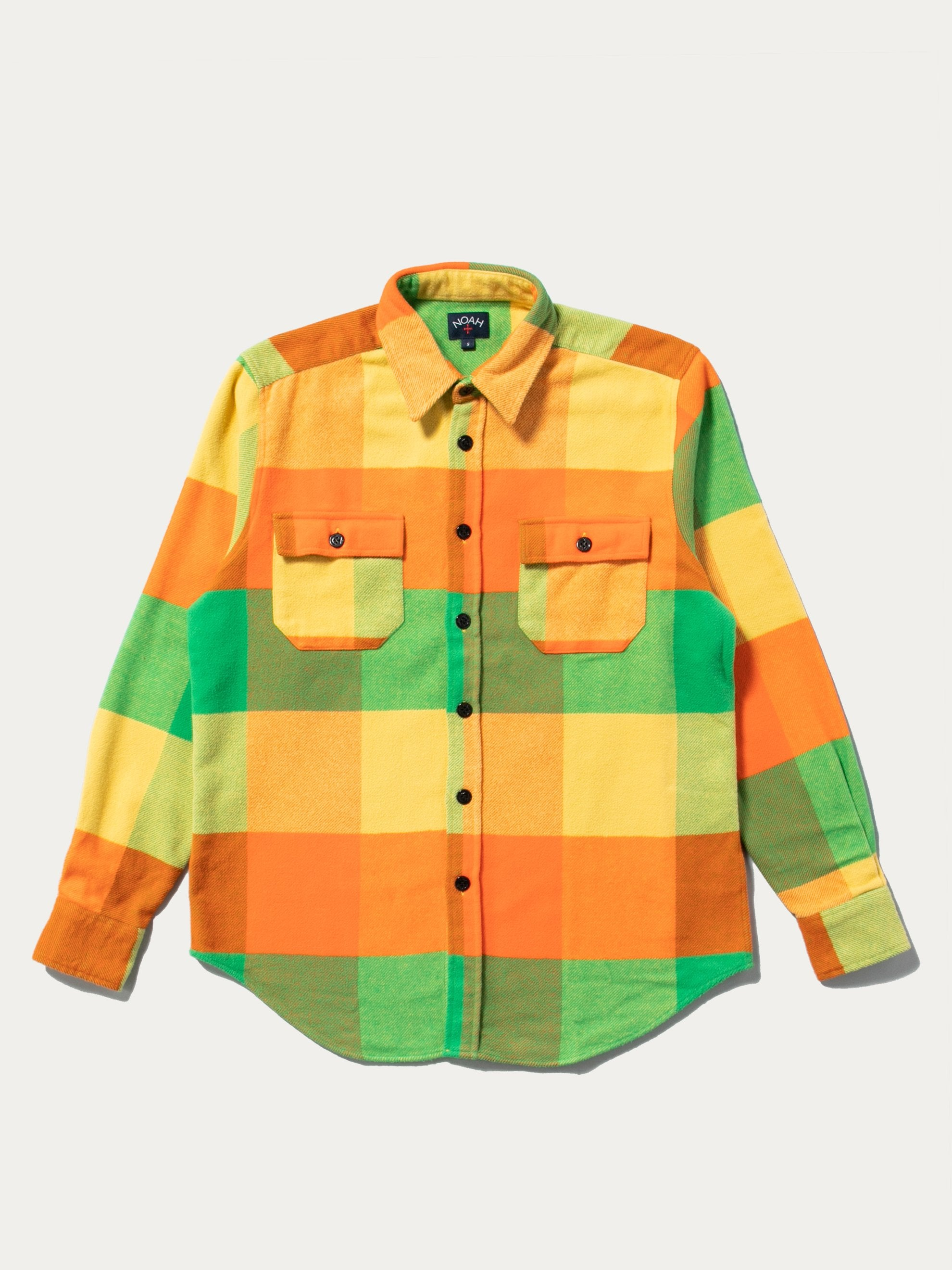 Yellow Combo Plaid Heavyweight Flannel 1