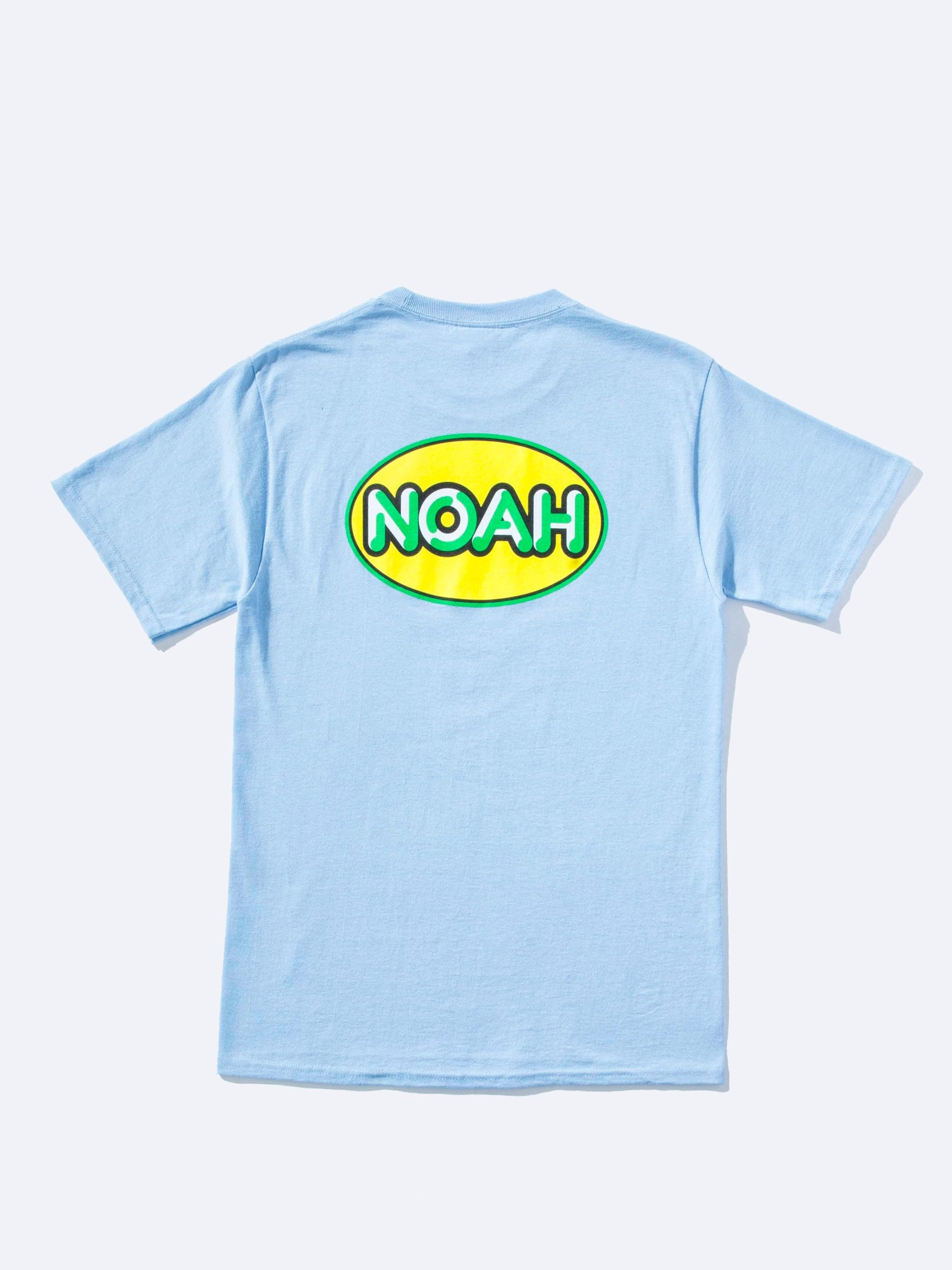 Light Blue Delivery Logo T-Shirt 1