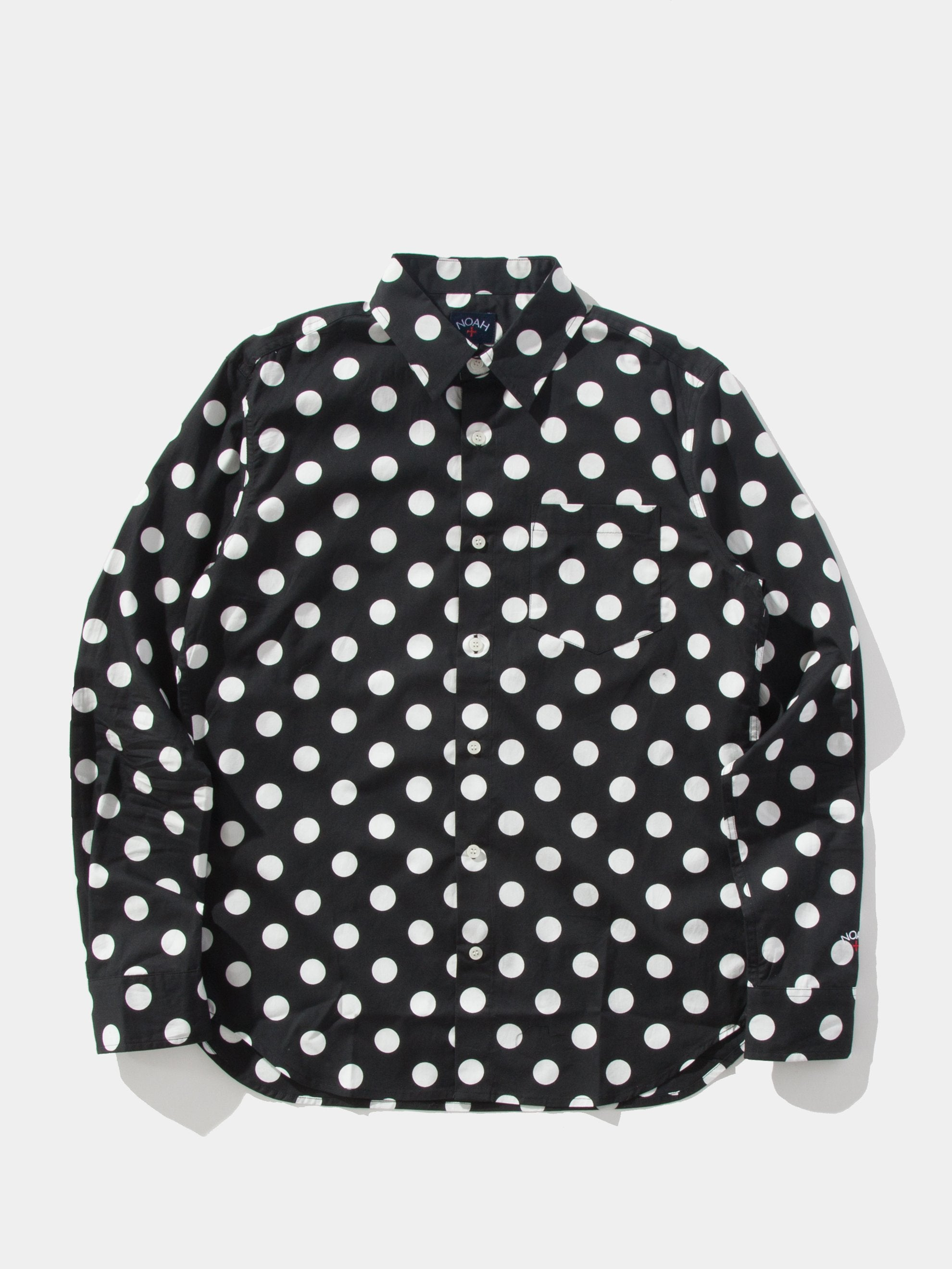 Black/White The Cure Polka Dot Shirt 1