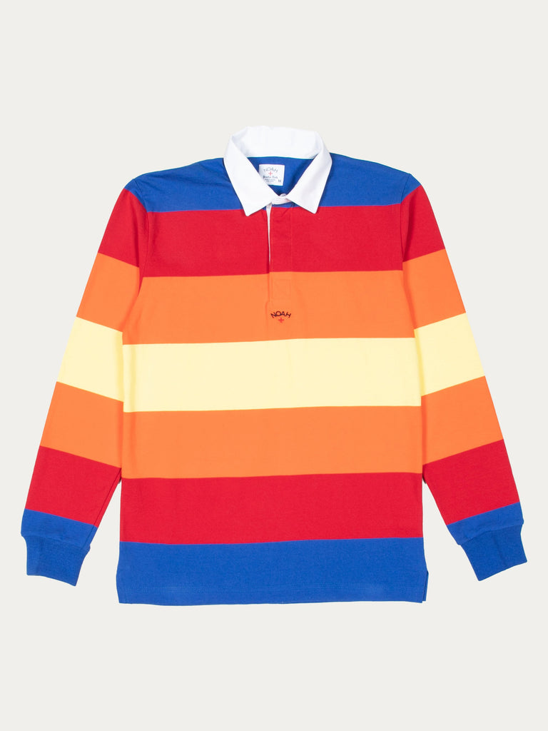 Multi-Color Striped Rugby