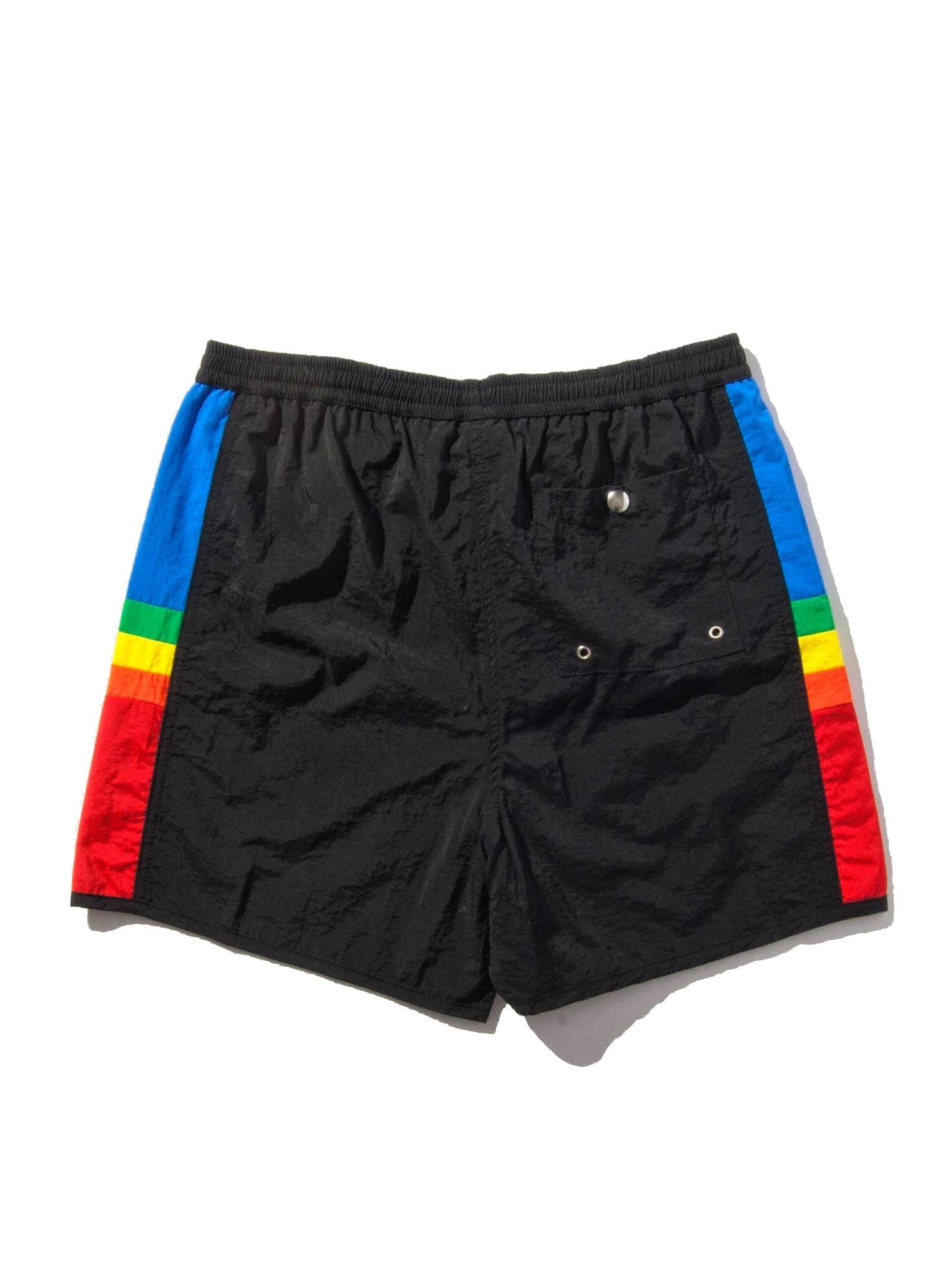 Navy Rainbow Short 6