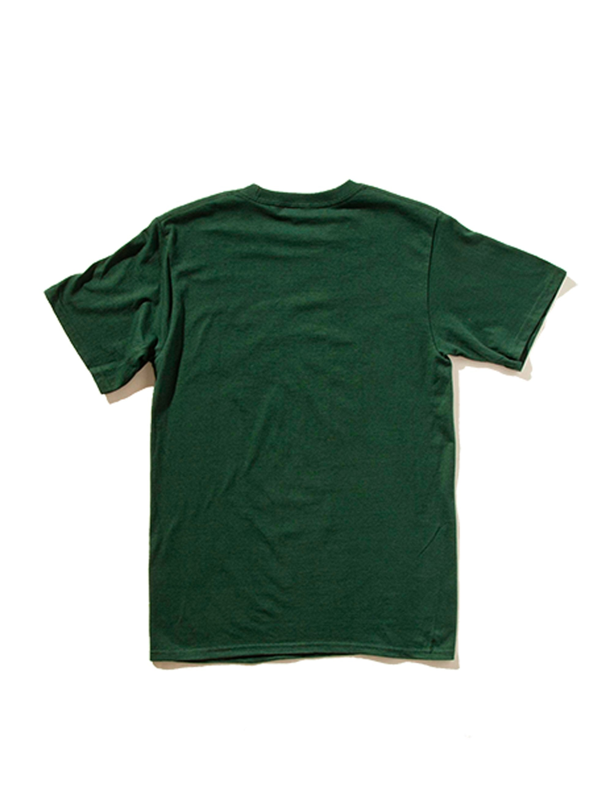 Dark Green NOAH Core Logo T-Shirt 8