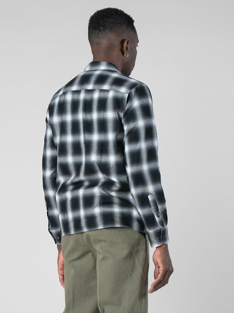 Violator Rose Shadow Plaid Fanel Shirt13801504047181