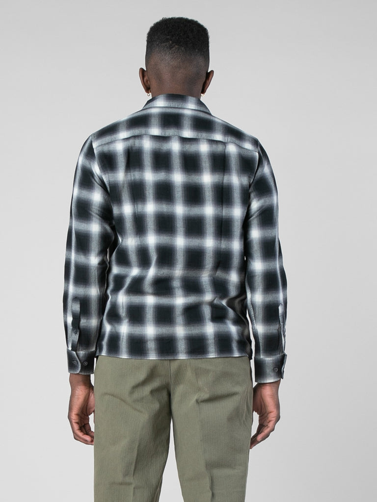 Violator Rose Shadow Plaid Fanel Shirt13801504079949