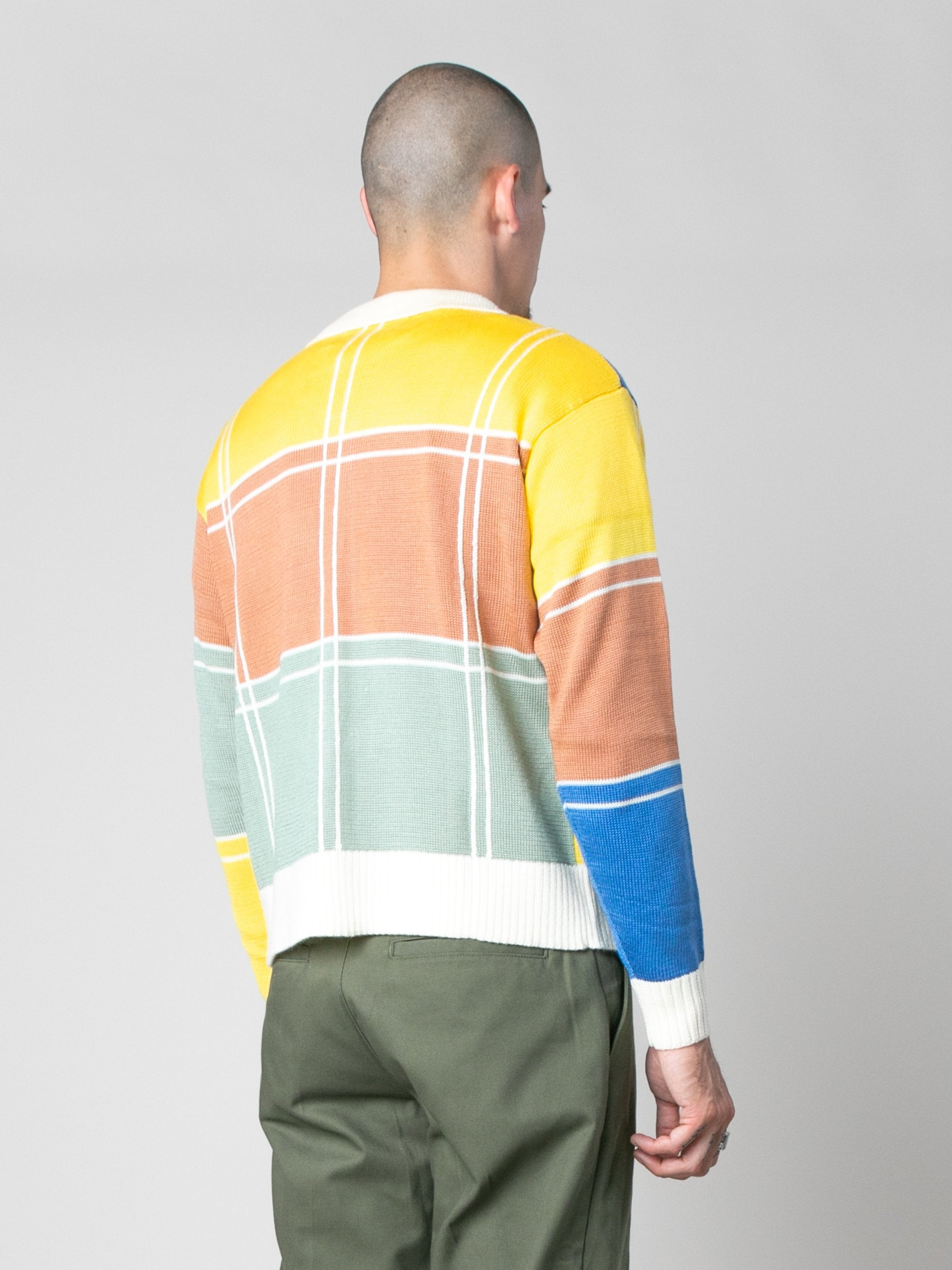 Colorblock Colorblock Zip Sweater 5