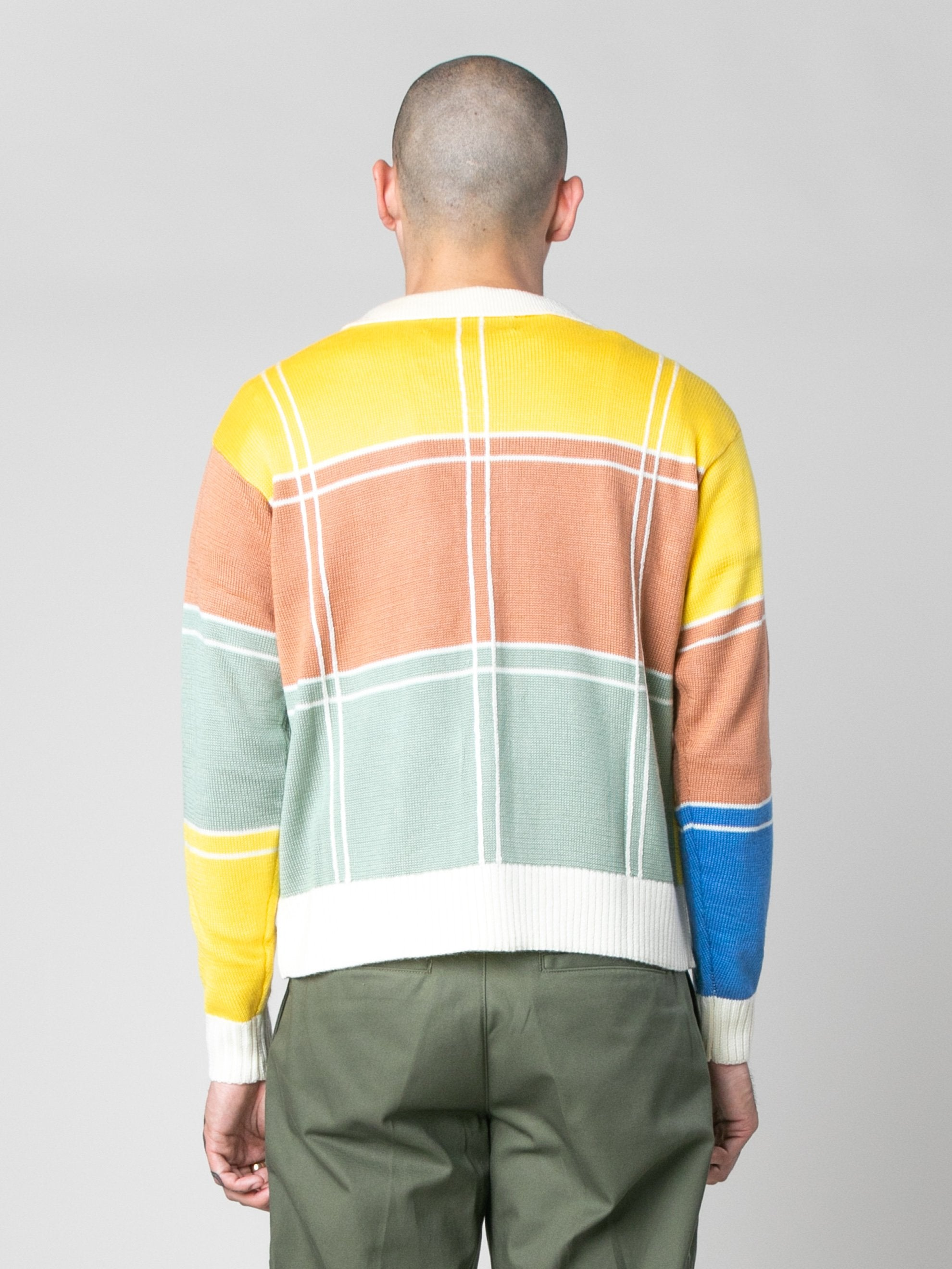 Colorblock Colorblock Zip Sweater 6