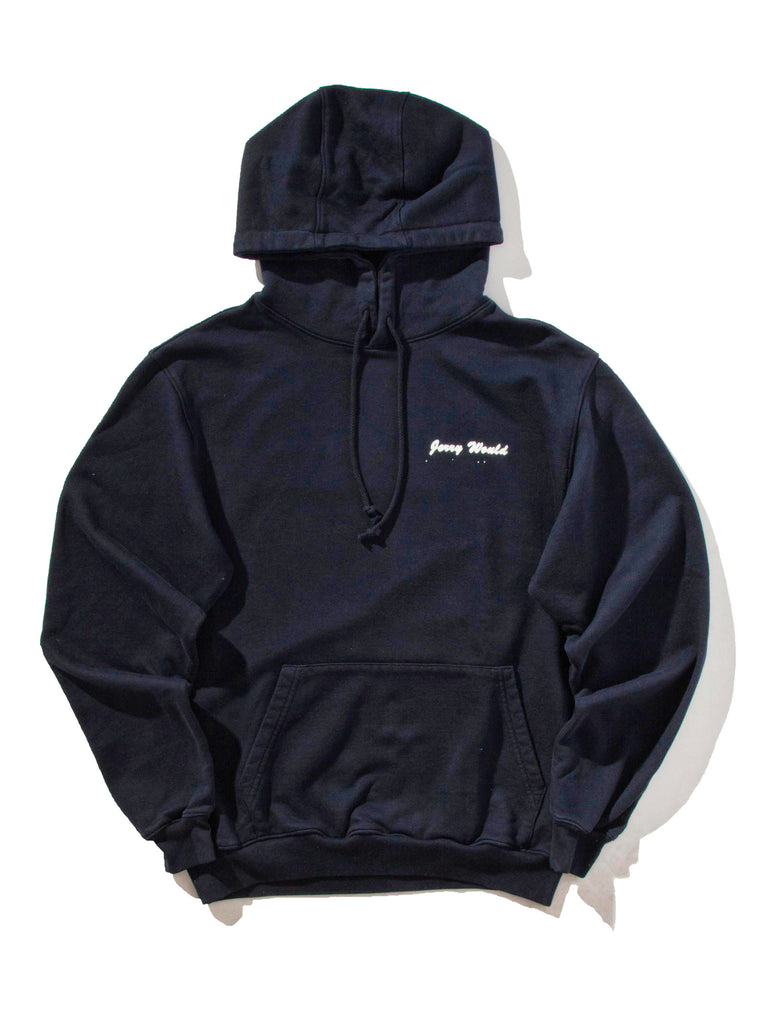 Navy Jerry Would Hooded Sweatshirt 622053801289