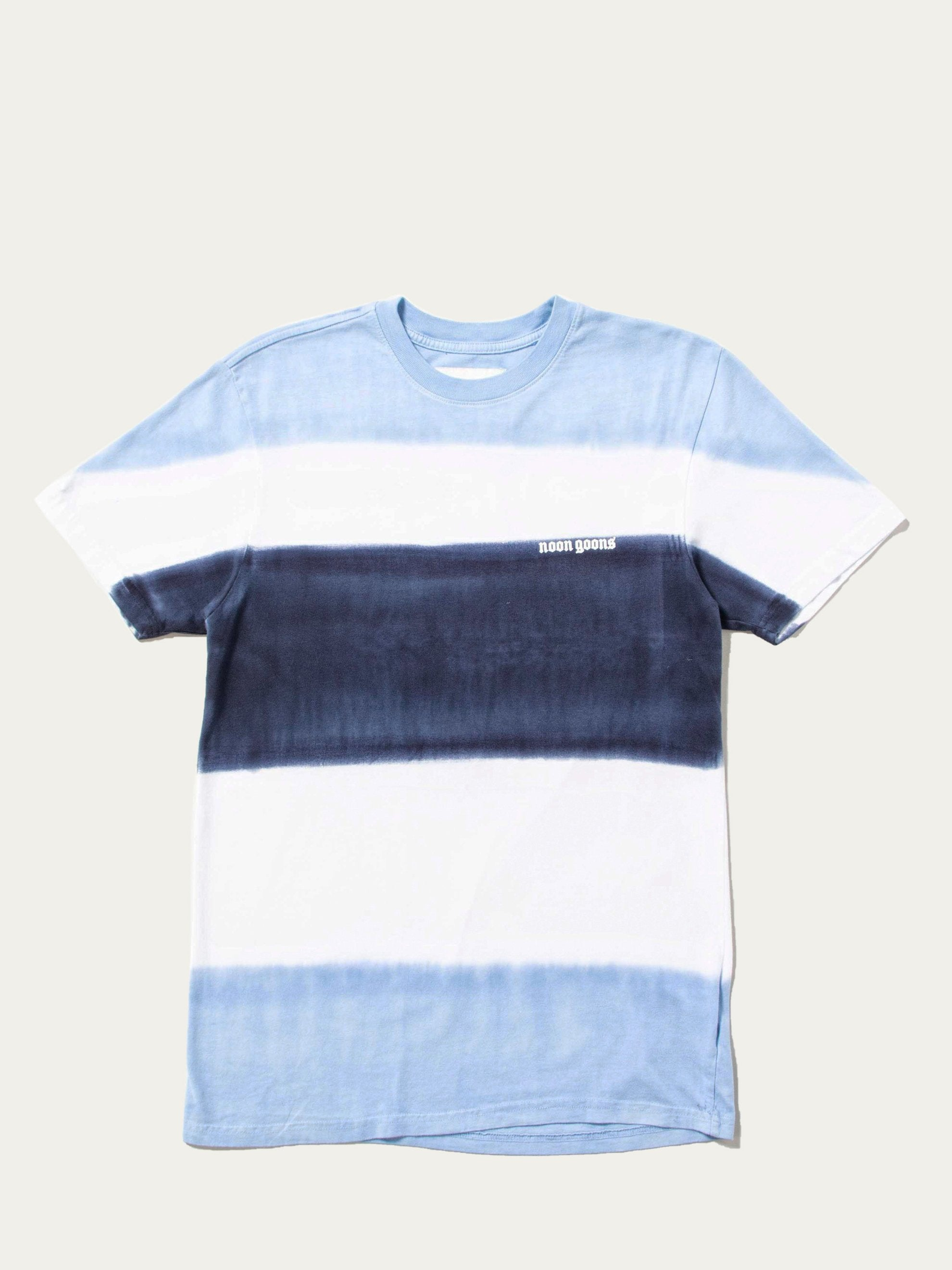 Blue/White/Navy Max Dyed This T-Shirt 1