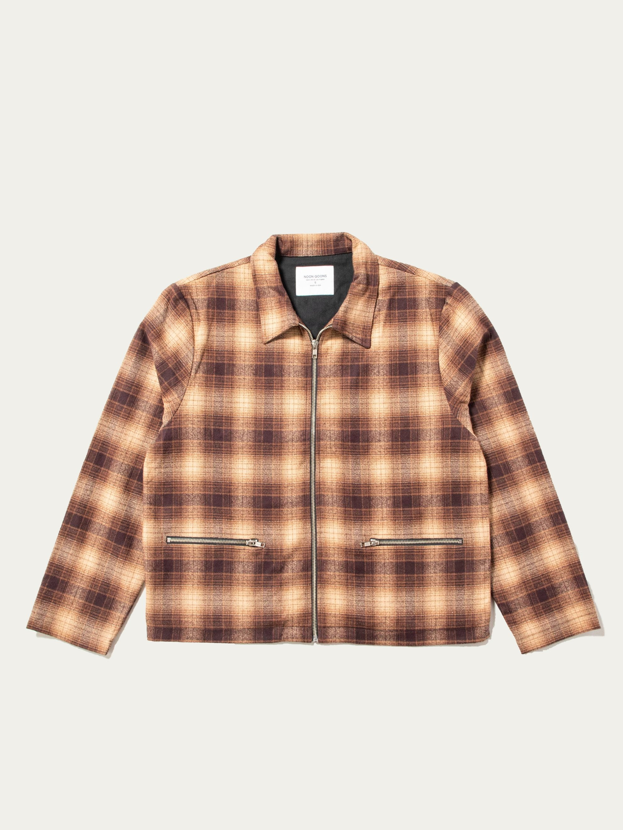 Brown Anderson Flannel Jacket 1