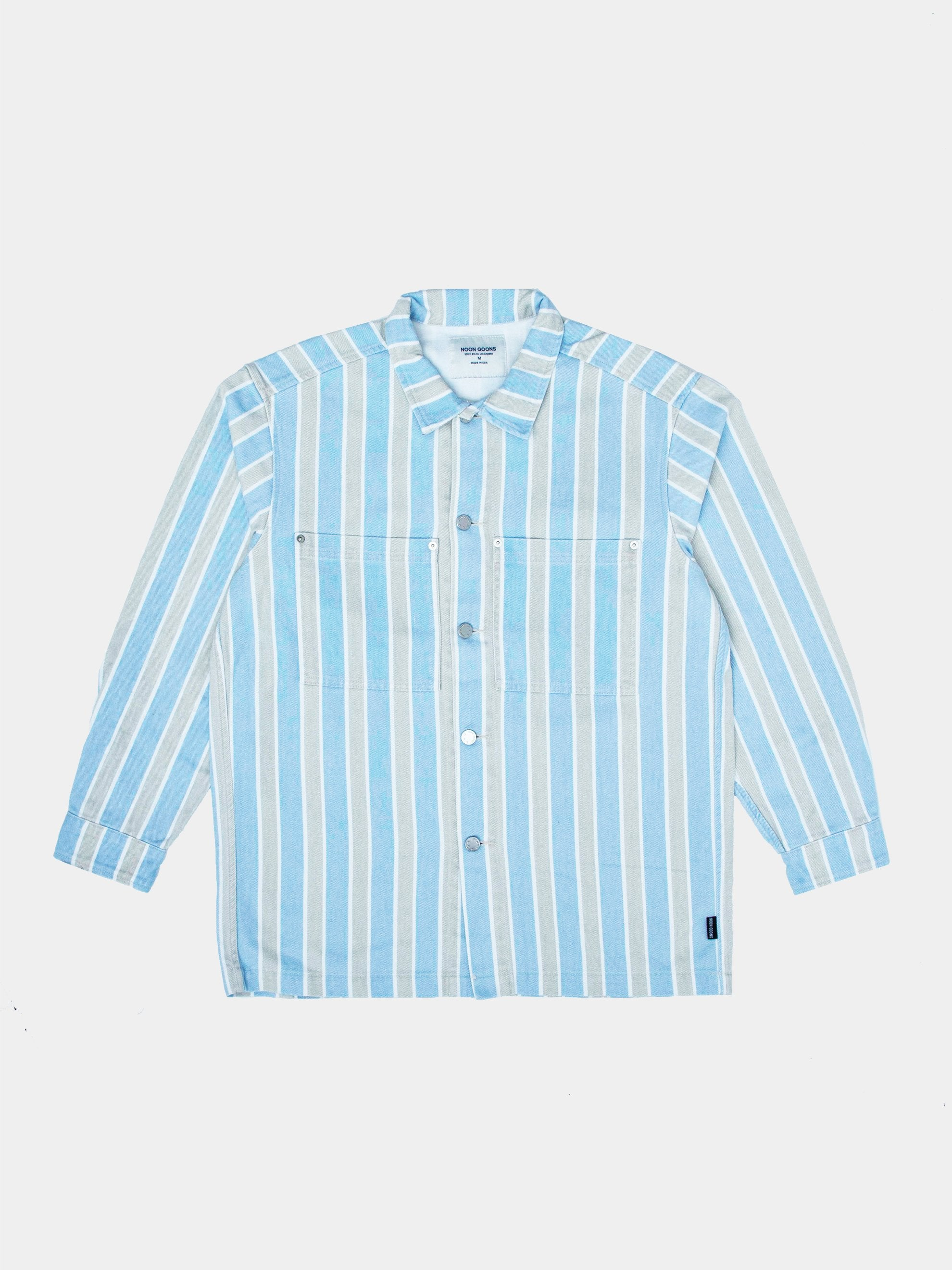 Alameda Stripe Denim Shirt