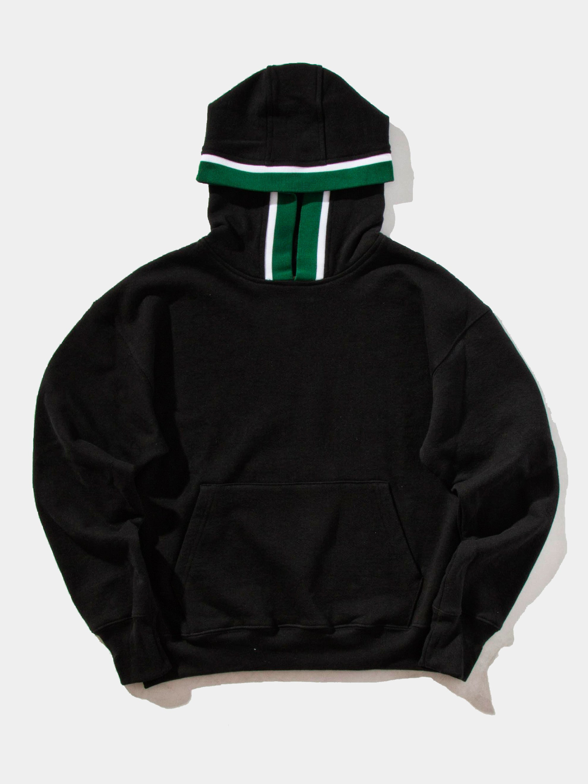 Black Outfield Pullover Hooded Sweatshirt 1
