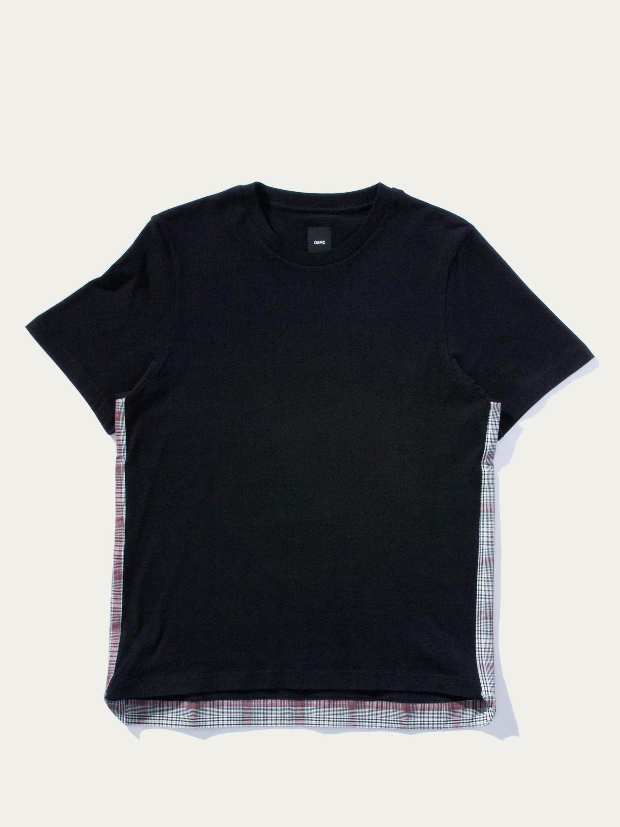 Black/Plaid Saigon S/S Top 1