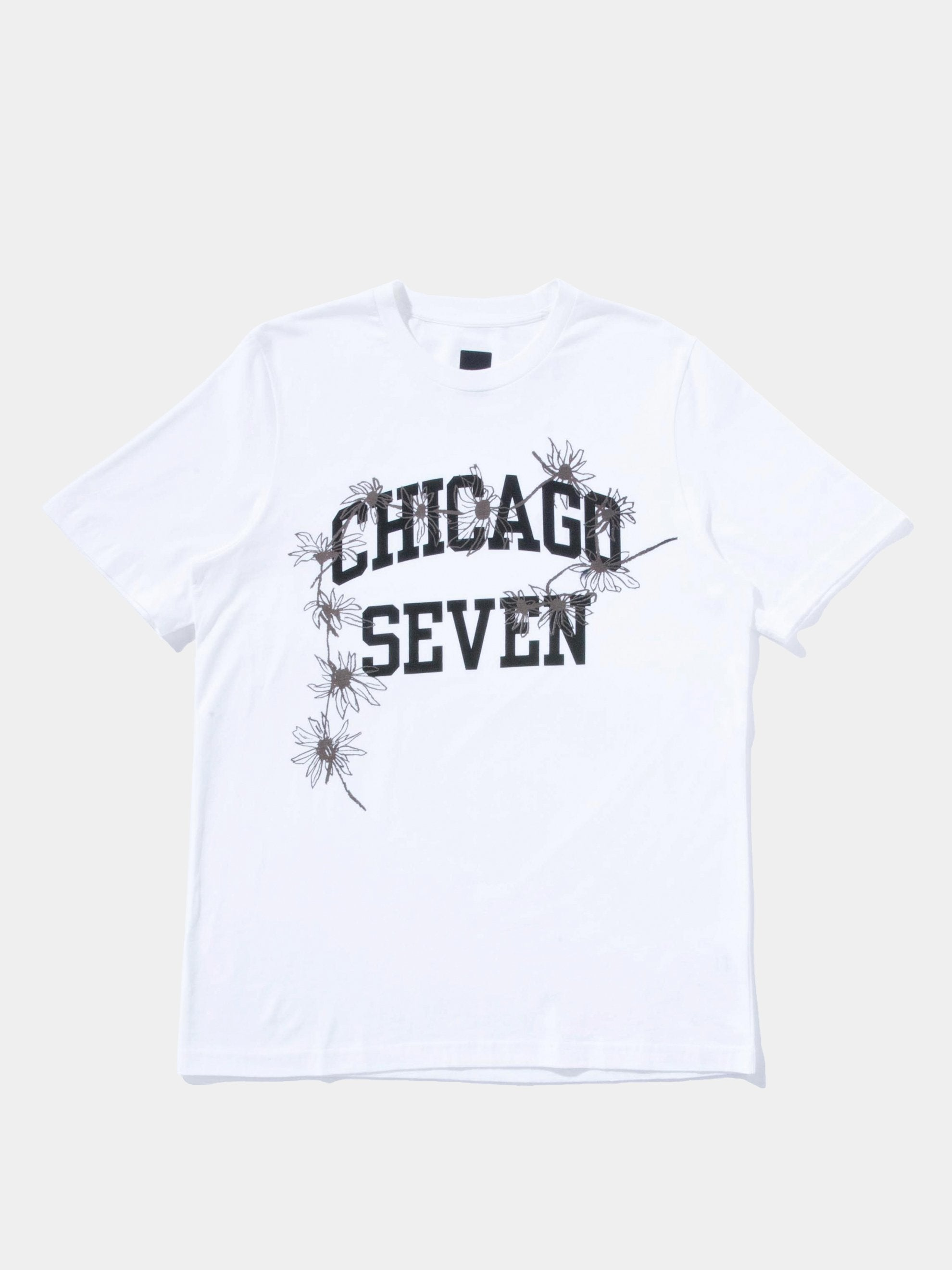 White Chicago Seven T-Shirt 1