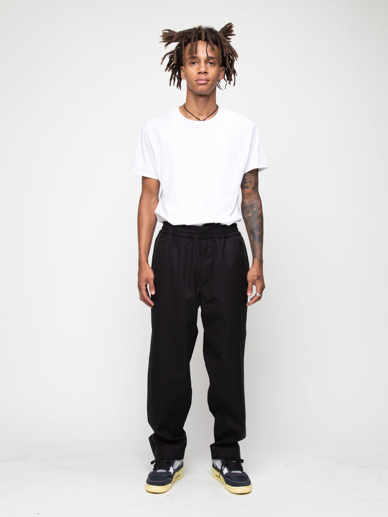 Cropped Drawcord Pant