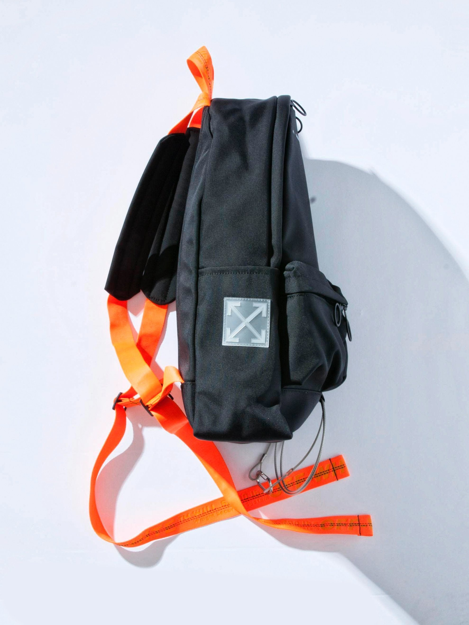 Black No Color Tape Backpack 2