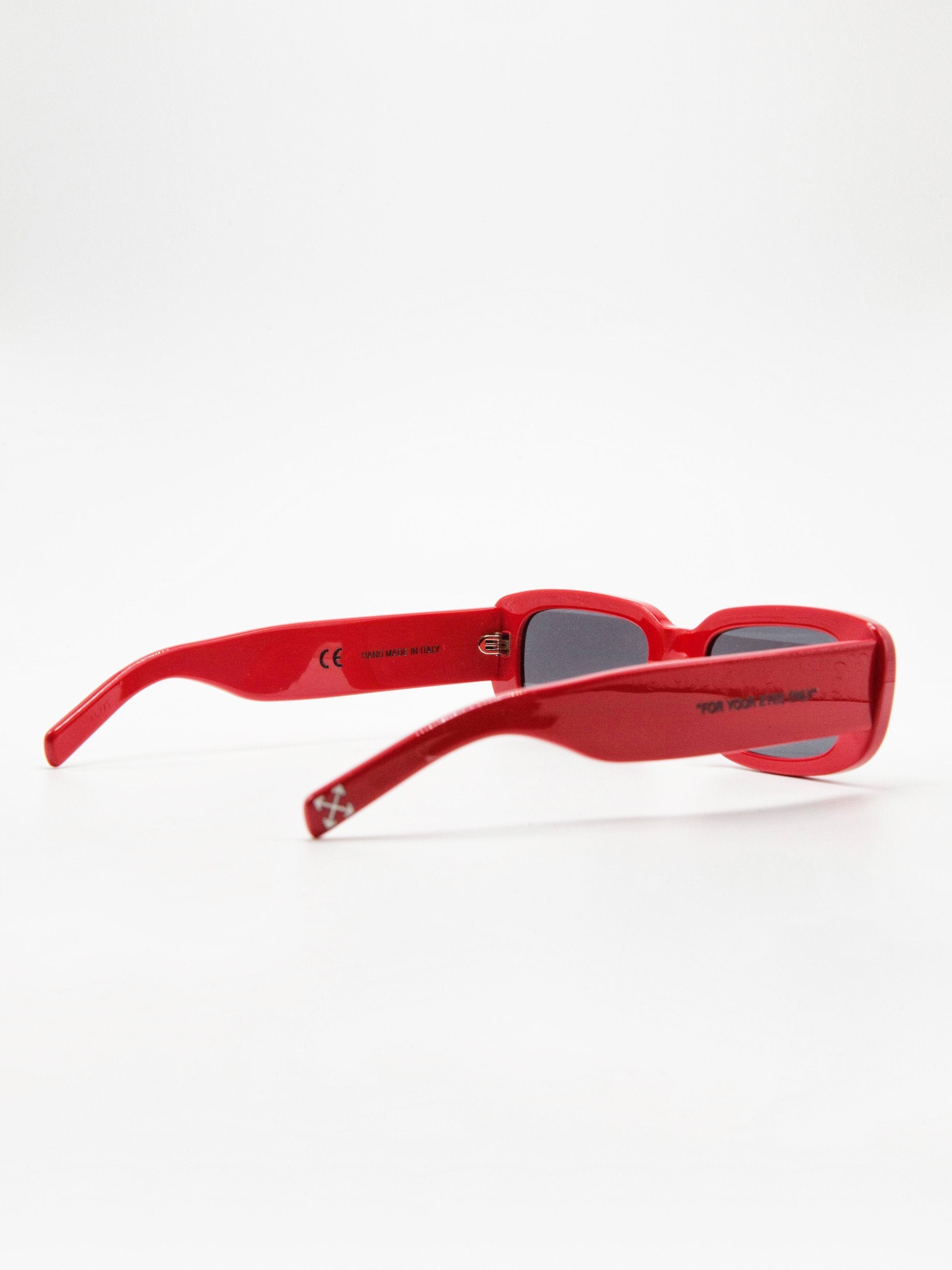 Red No Color Sunglasses Red No Color 4