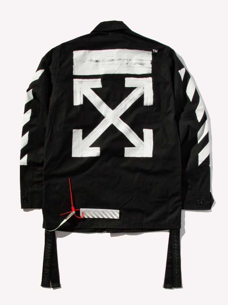 Buy Off White Diag Brushed Field Jacket Online At Union