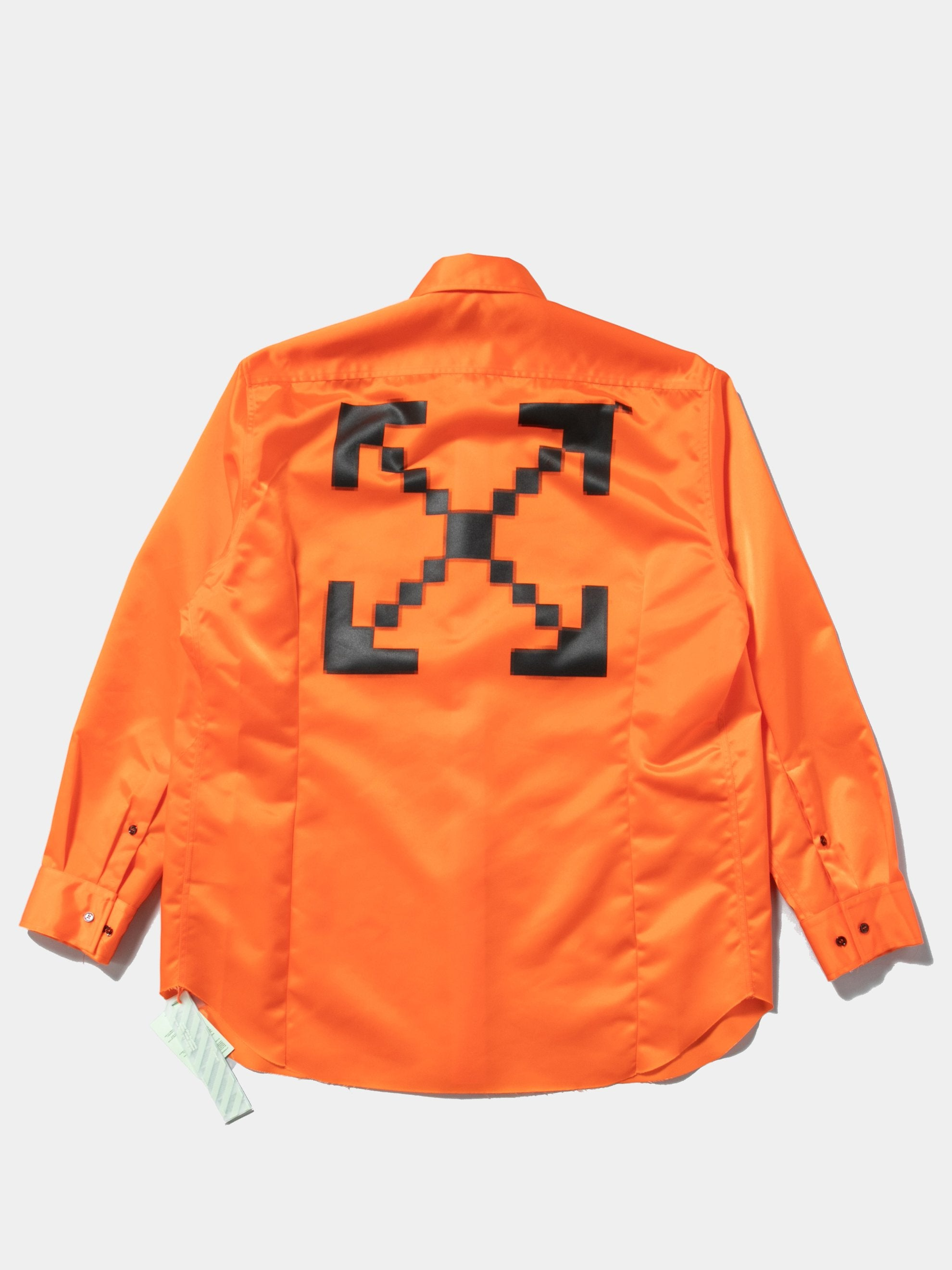 Orange / Black Scaffolding Over Shirt 1