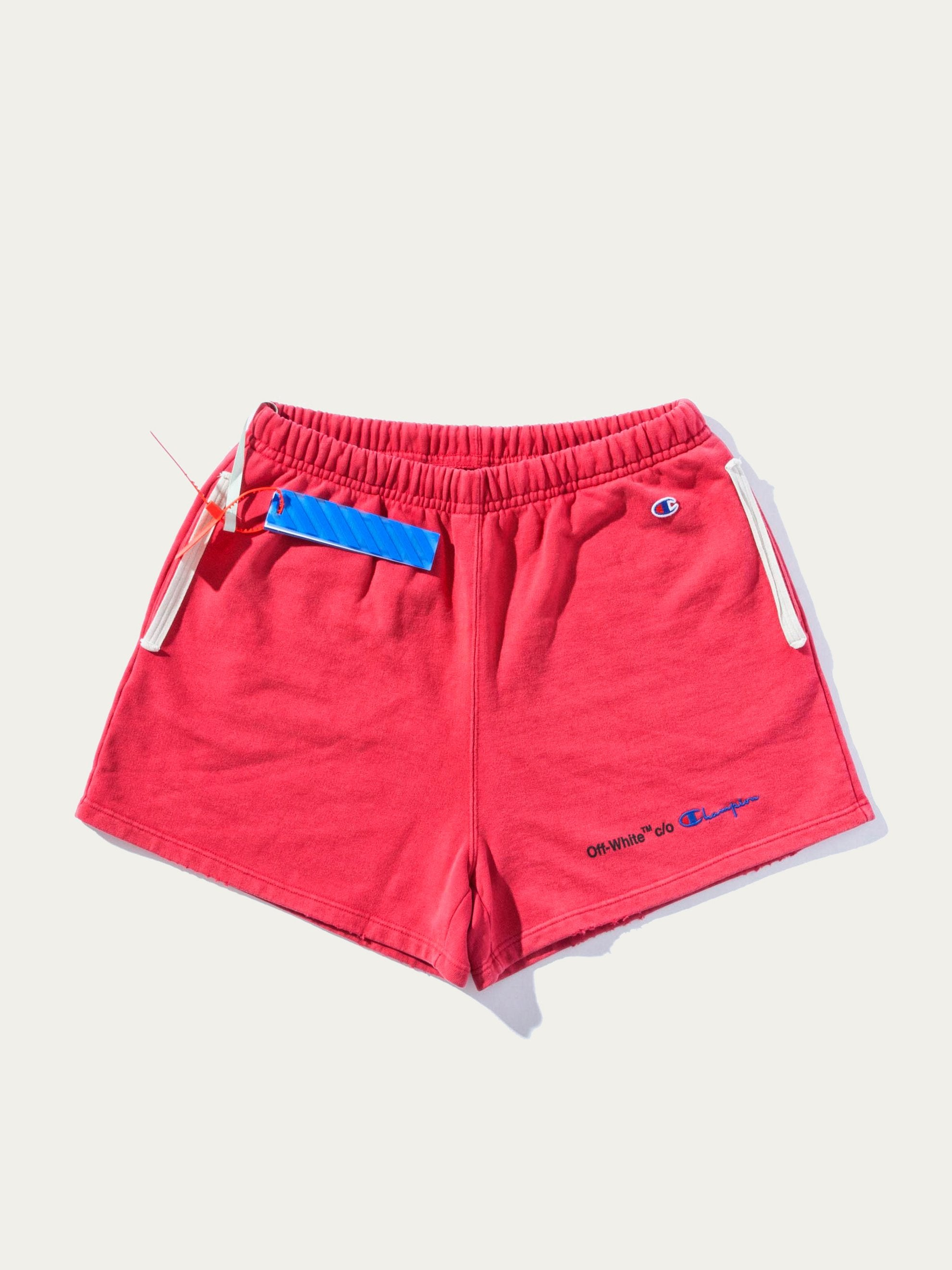 Red/Black Champion Shorts 1