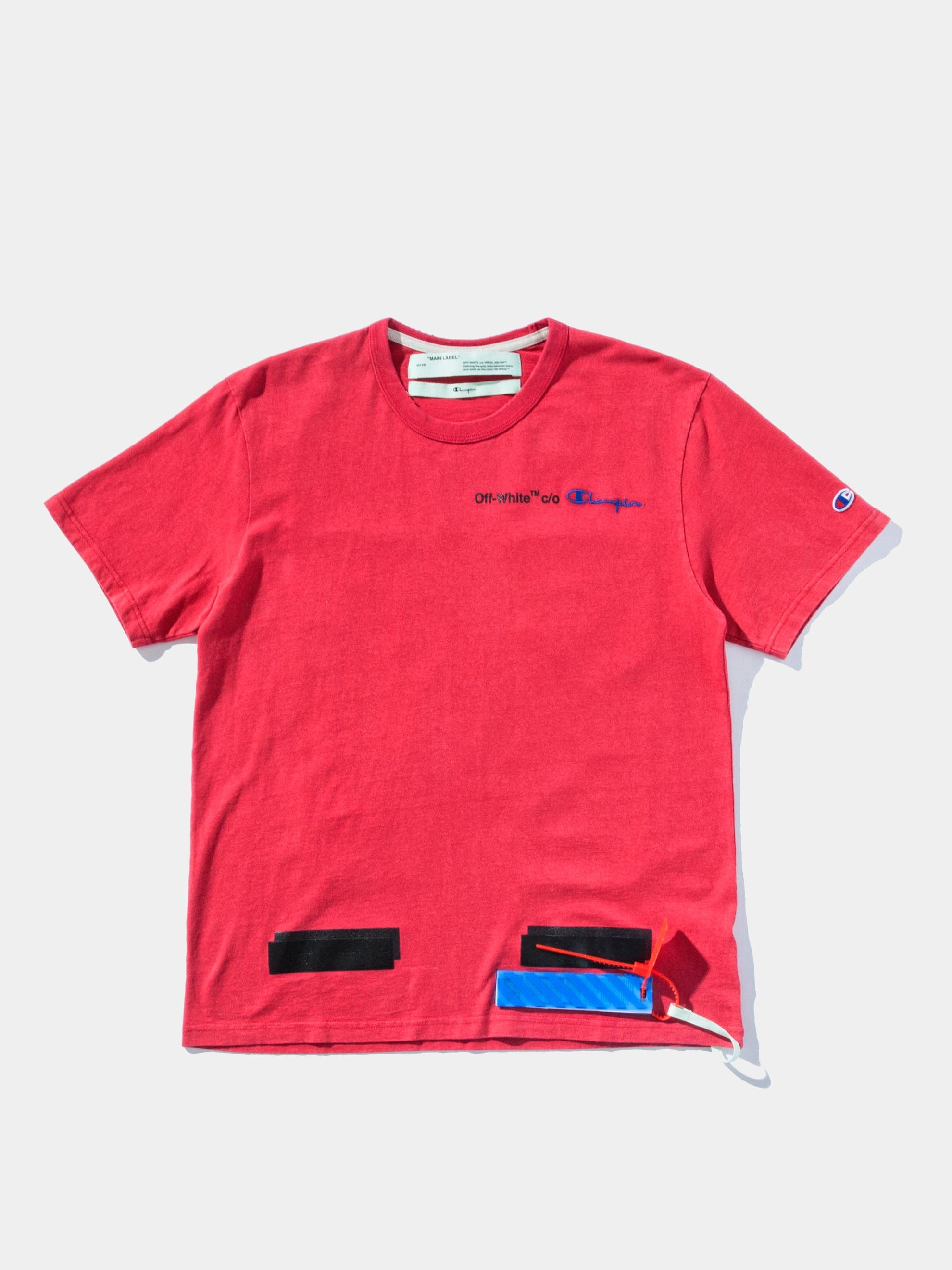 Red/Black Champion T-Shirt 1