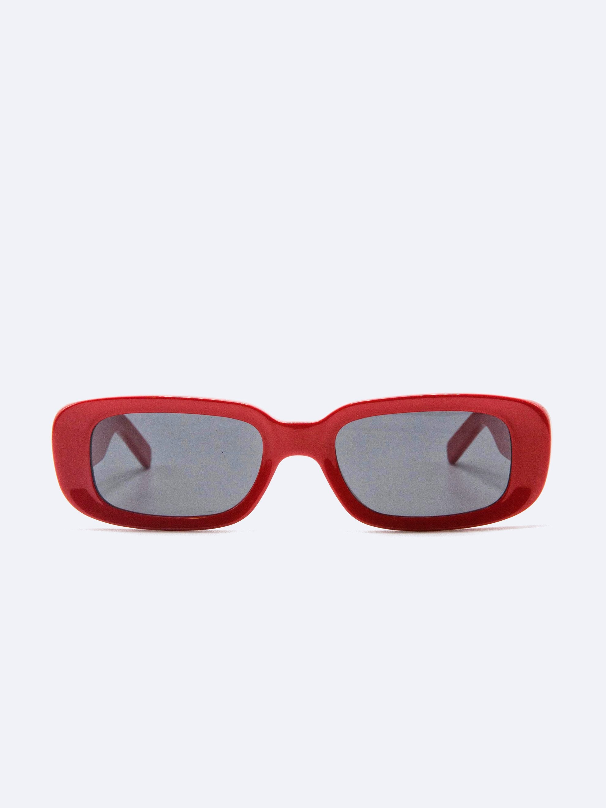 Red No Color Sunglasses Red No Color 1