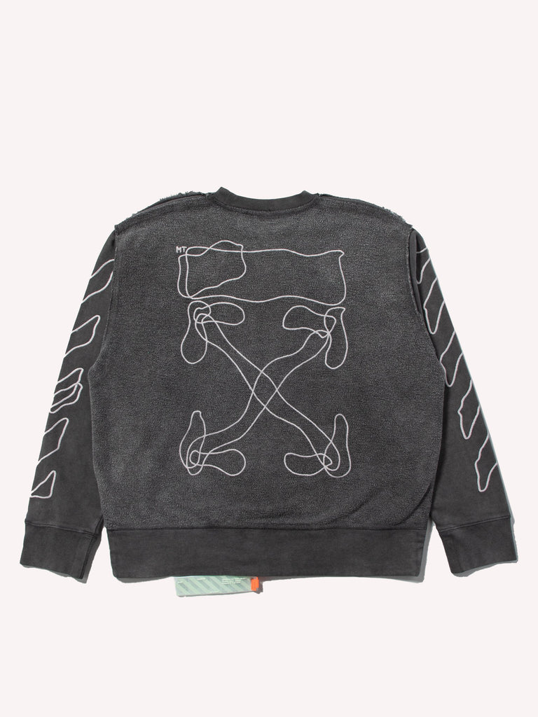 Abstract Arrows Incomp Crewneck