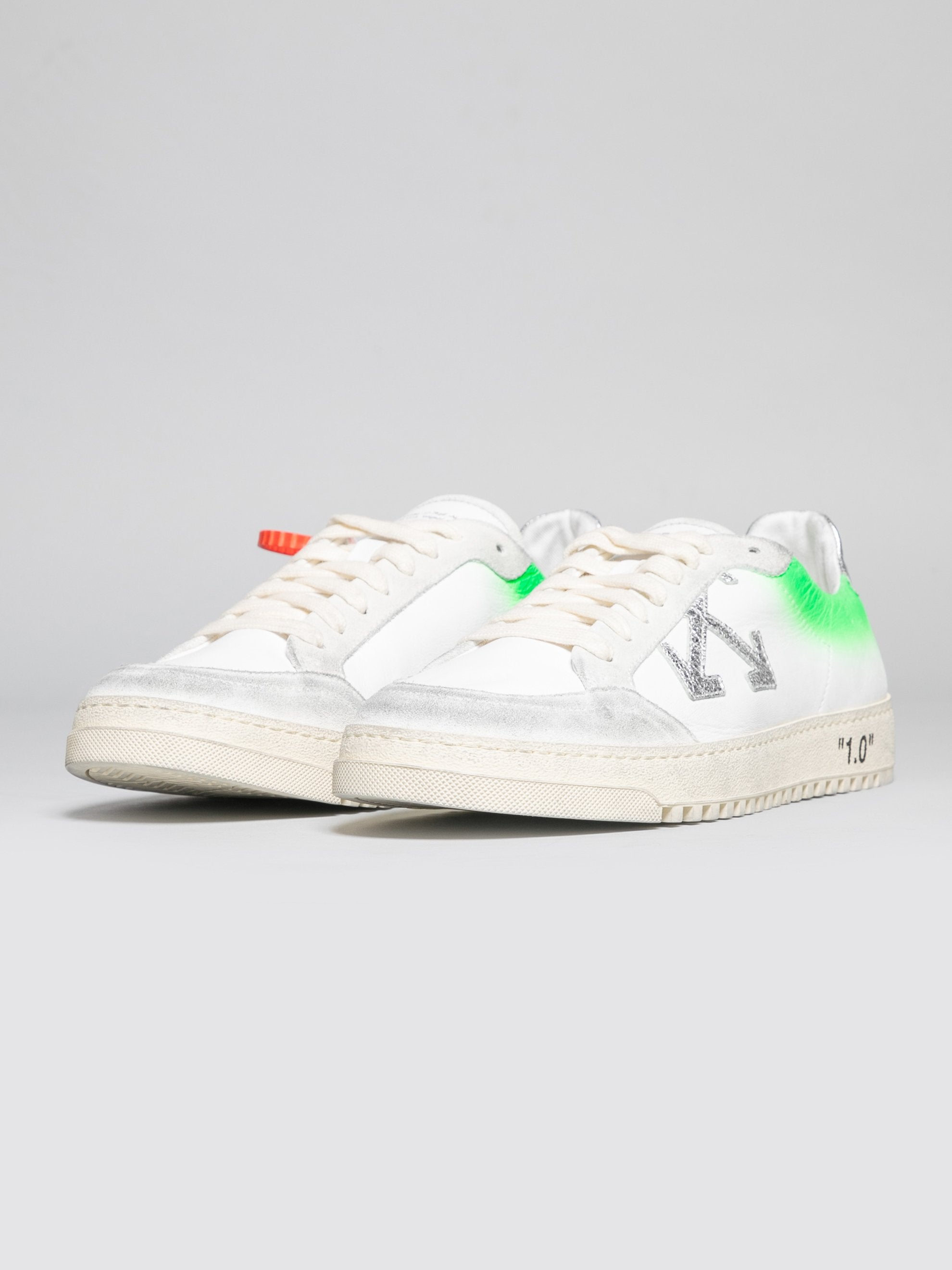 White / Green 2.0 Sneakers 2