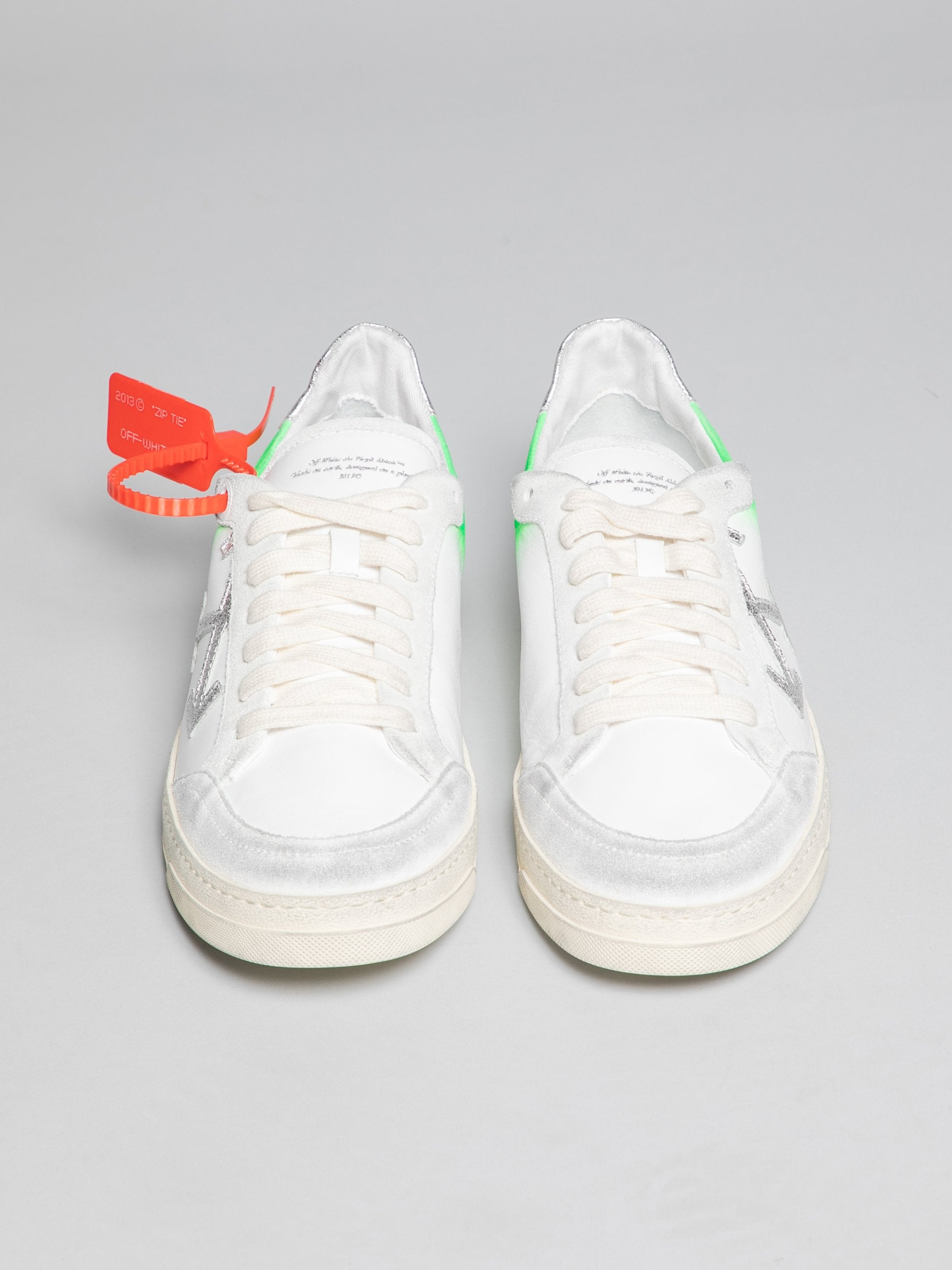 White / Green 2.0 Sneakers 3