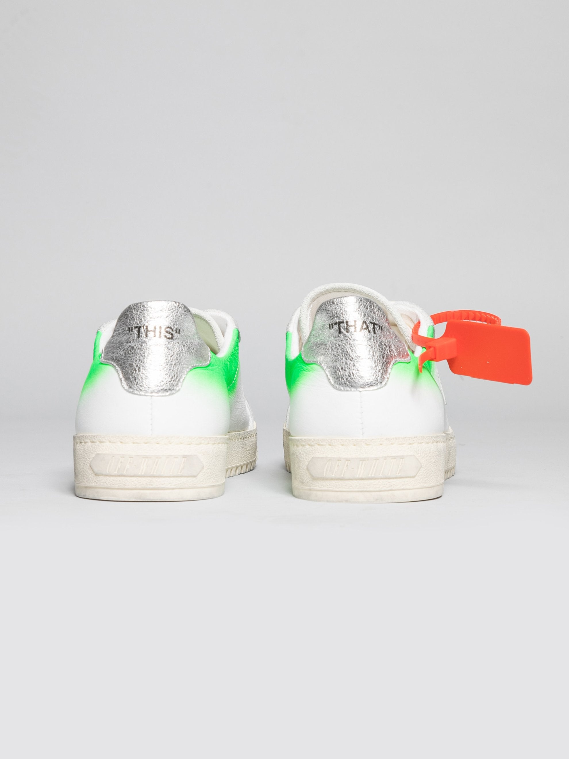 White / Green 2.0 Sneakers 4