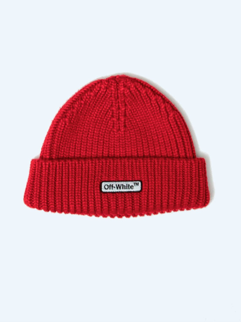 Buy OFF-WHITE Patch Beanie Online at UNION LOS ANGELES 3cefdfd5aa2