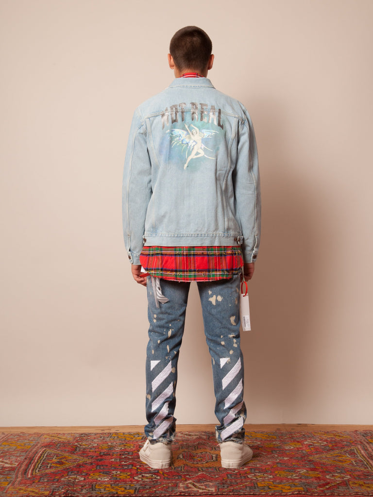 No Real Angel Denim Jacket