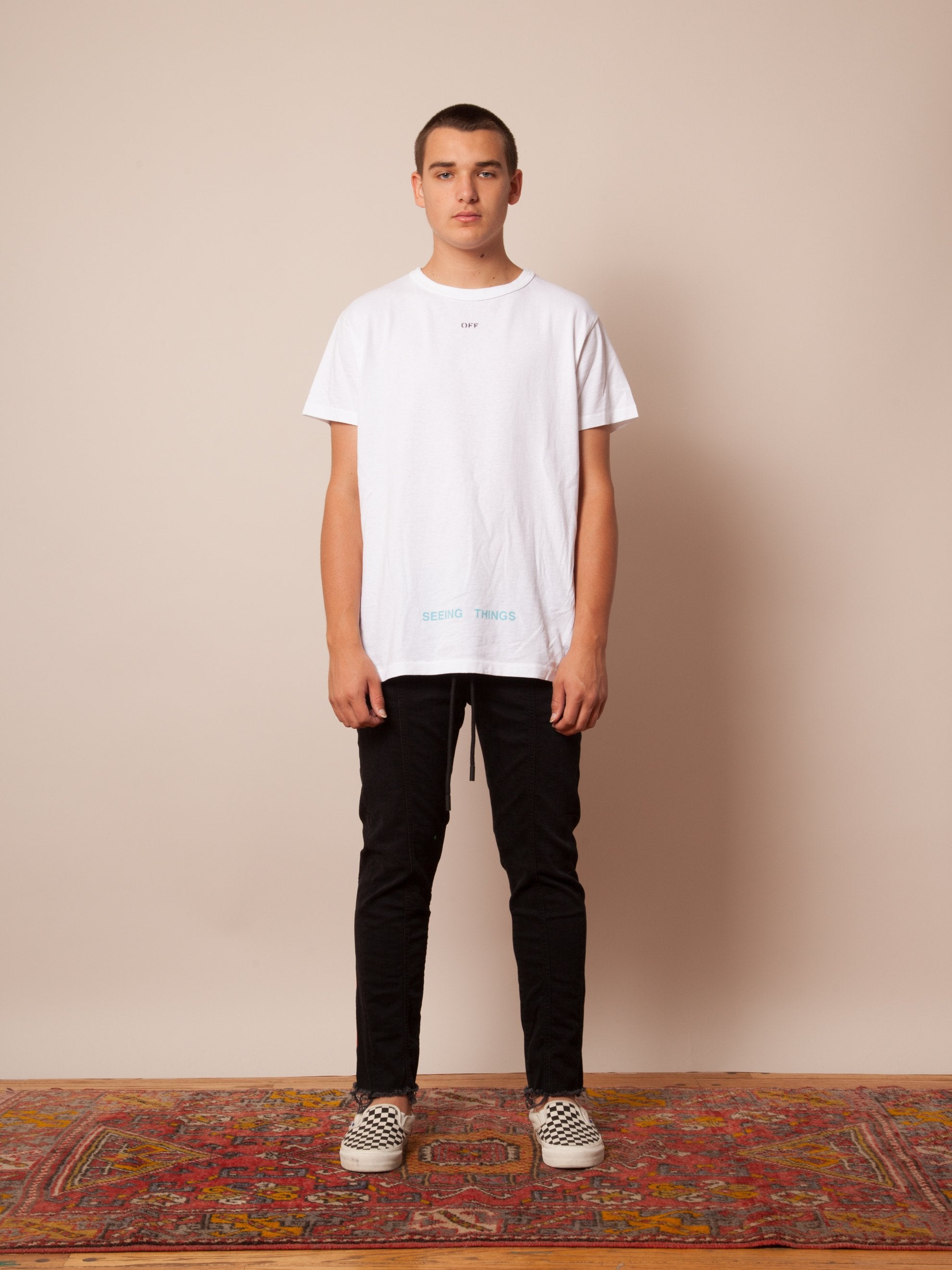 White Photocopy T-Shirt 2