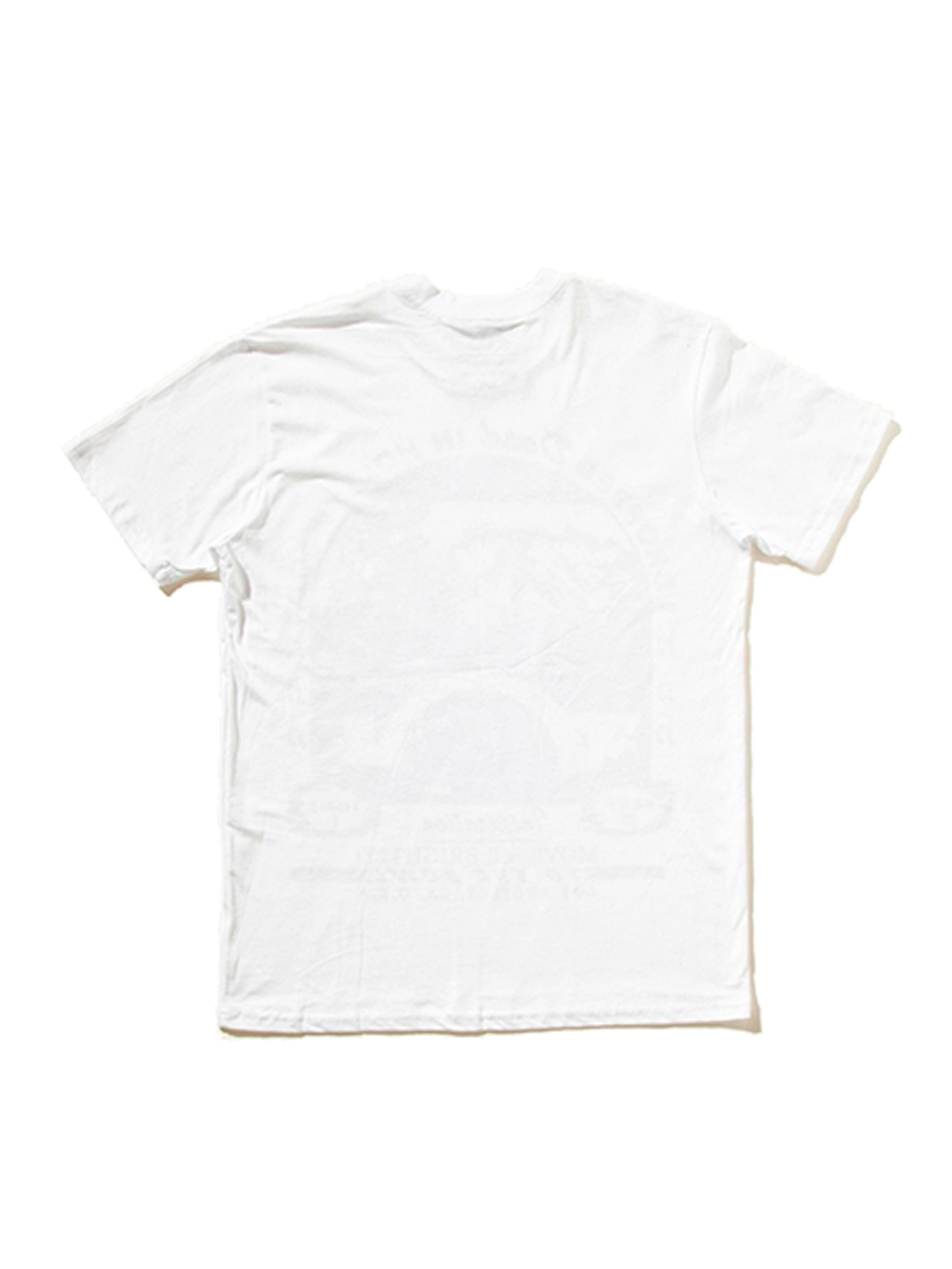 White Dropped Dead in Hollywood T-Shirt 6