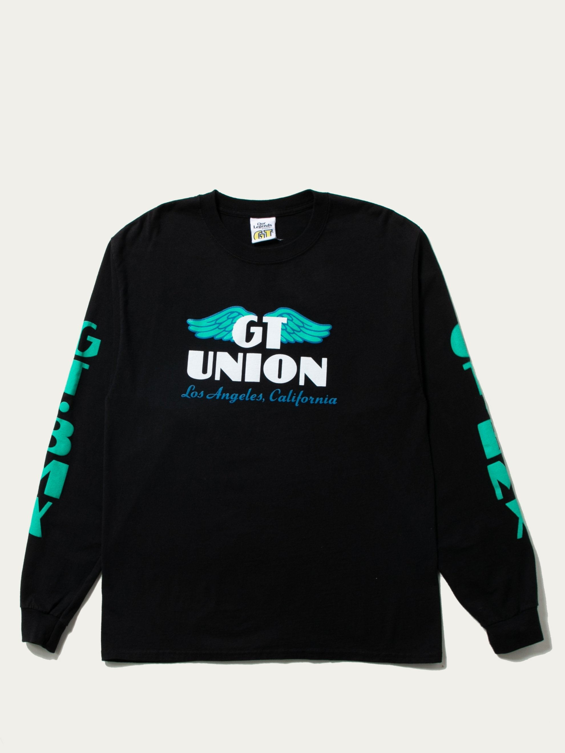 Black Our Legends Wings LS Tee 1