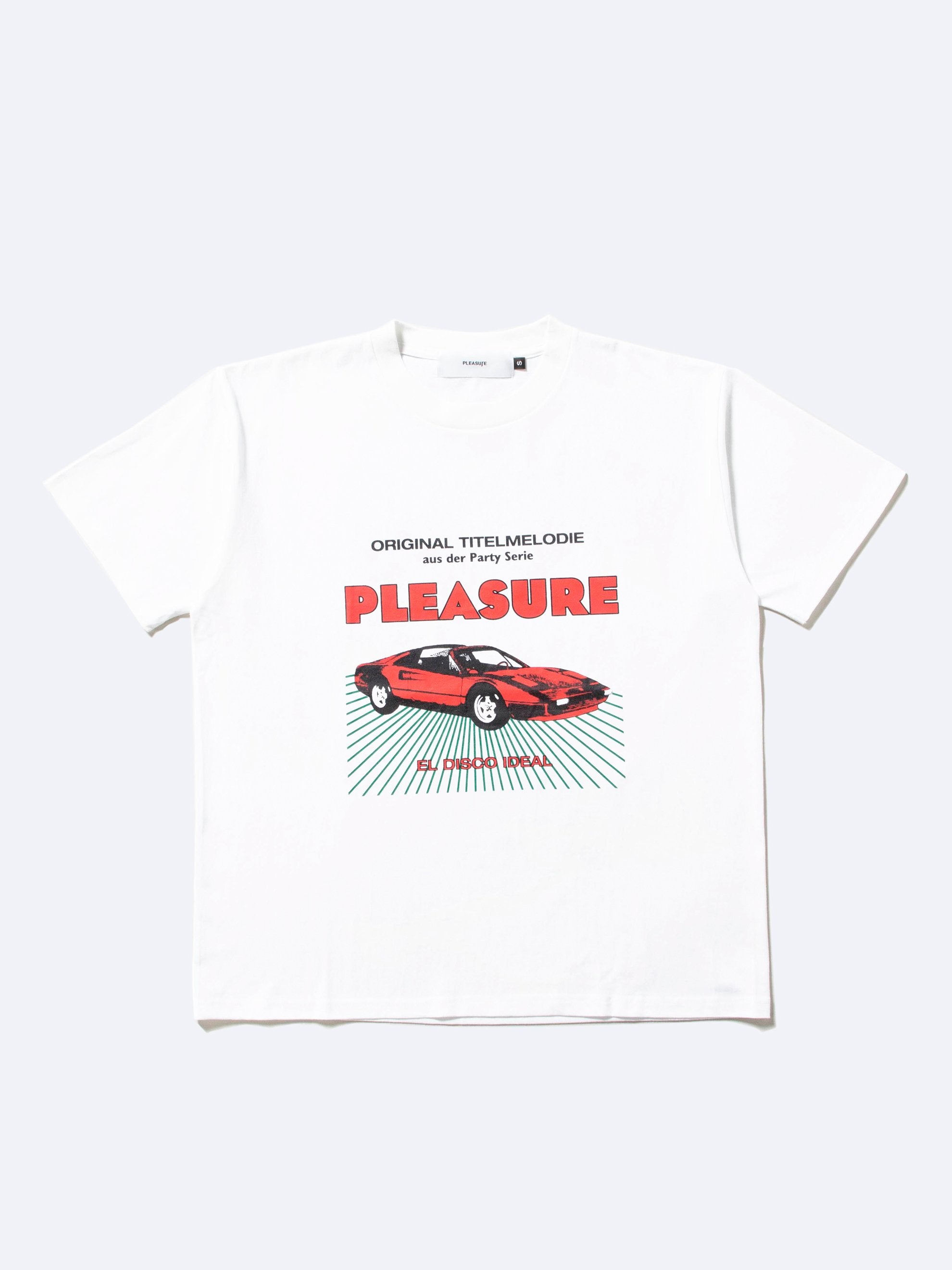 White New Car T-Shirt 1