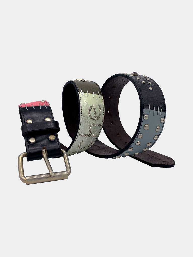 Black/Pink/Blue A1B1 Belt 314288375840845