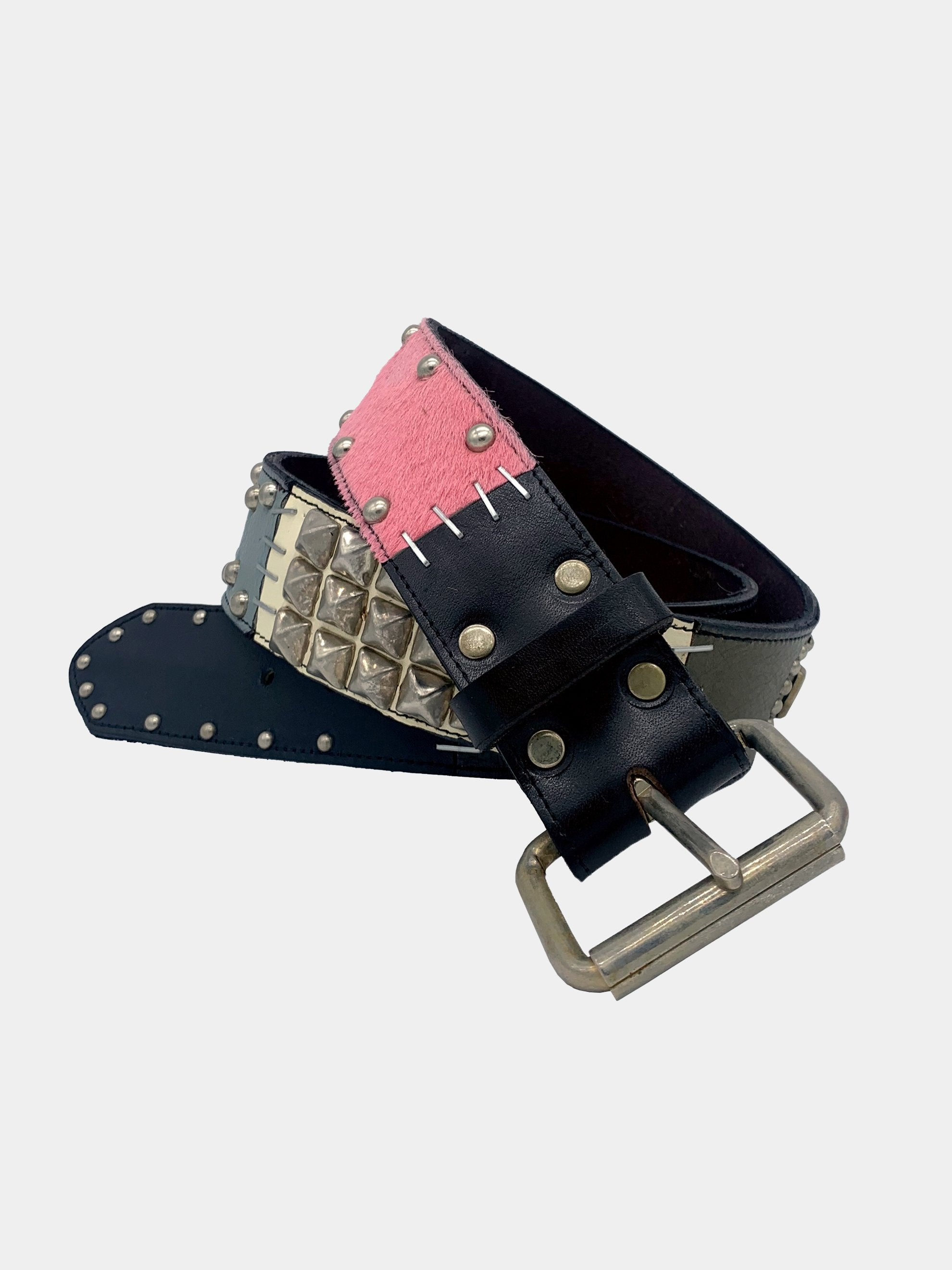 Black/Pink/Blue A1B1 Belt 1