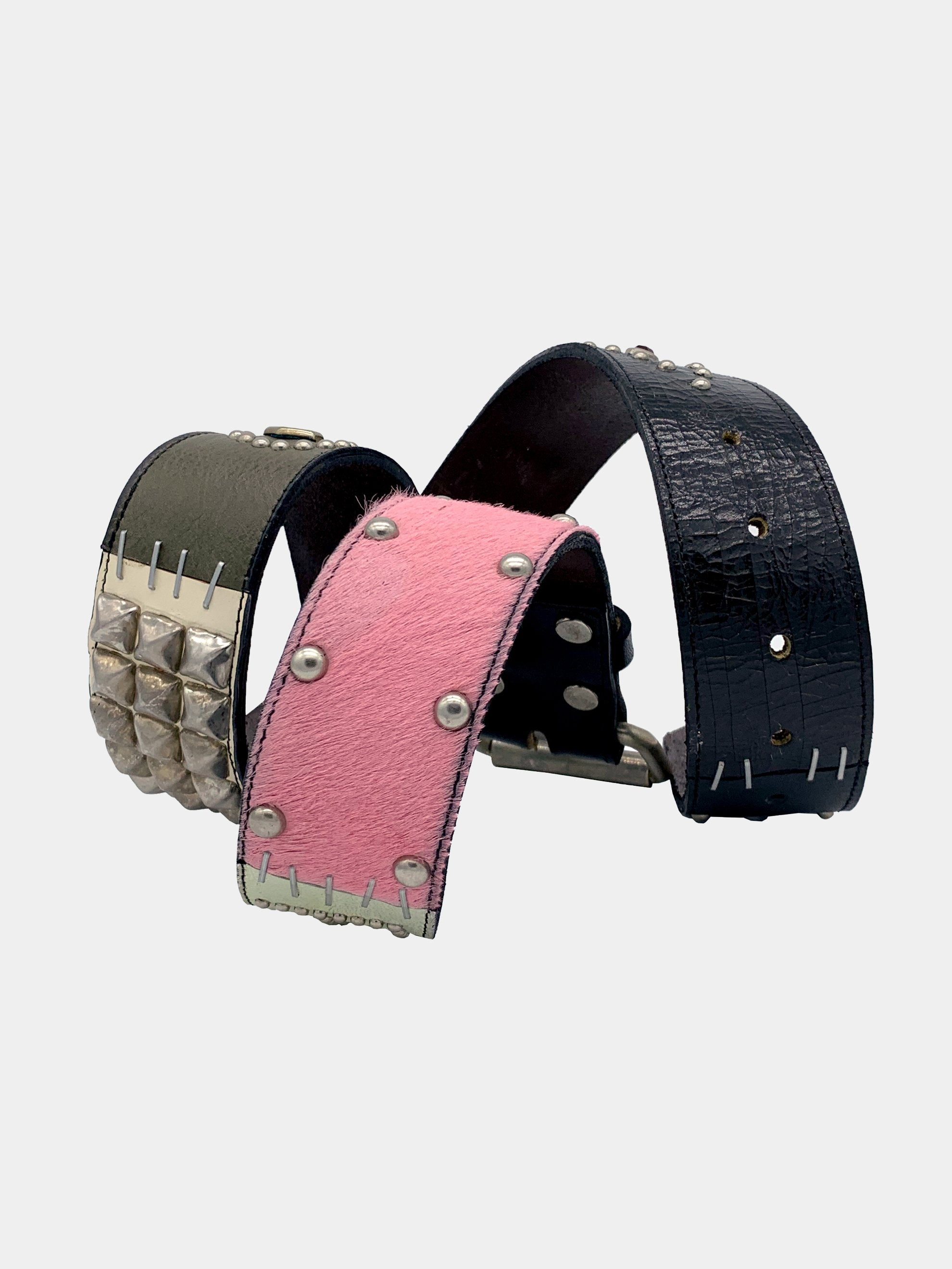 Black/Pink/Blue A1B1 Belt 4