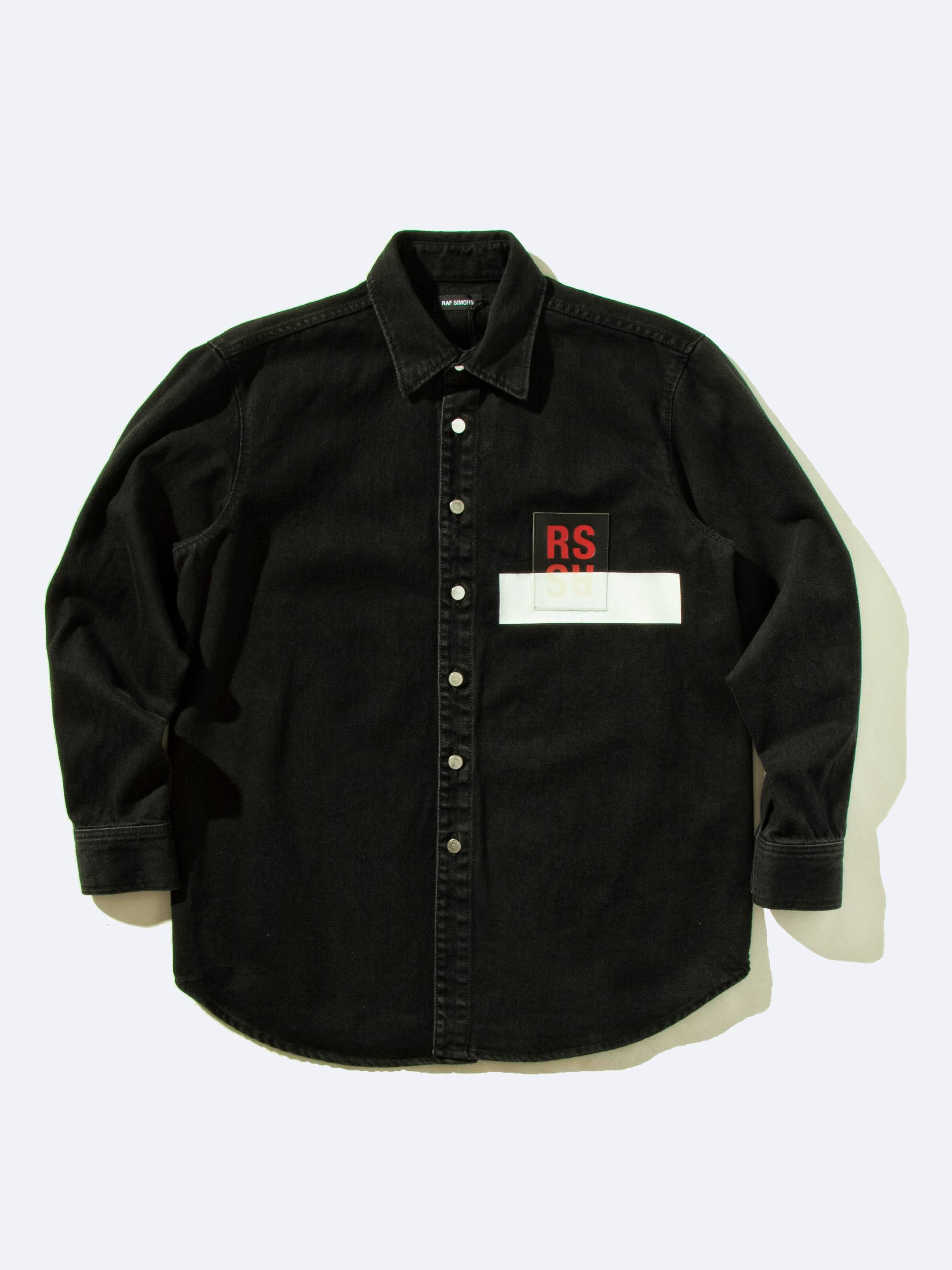Black Carry Over Denim Shirt 1