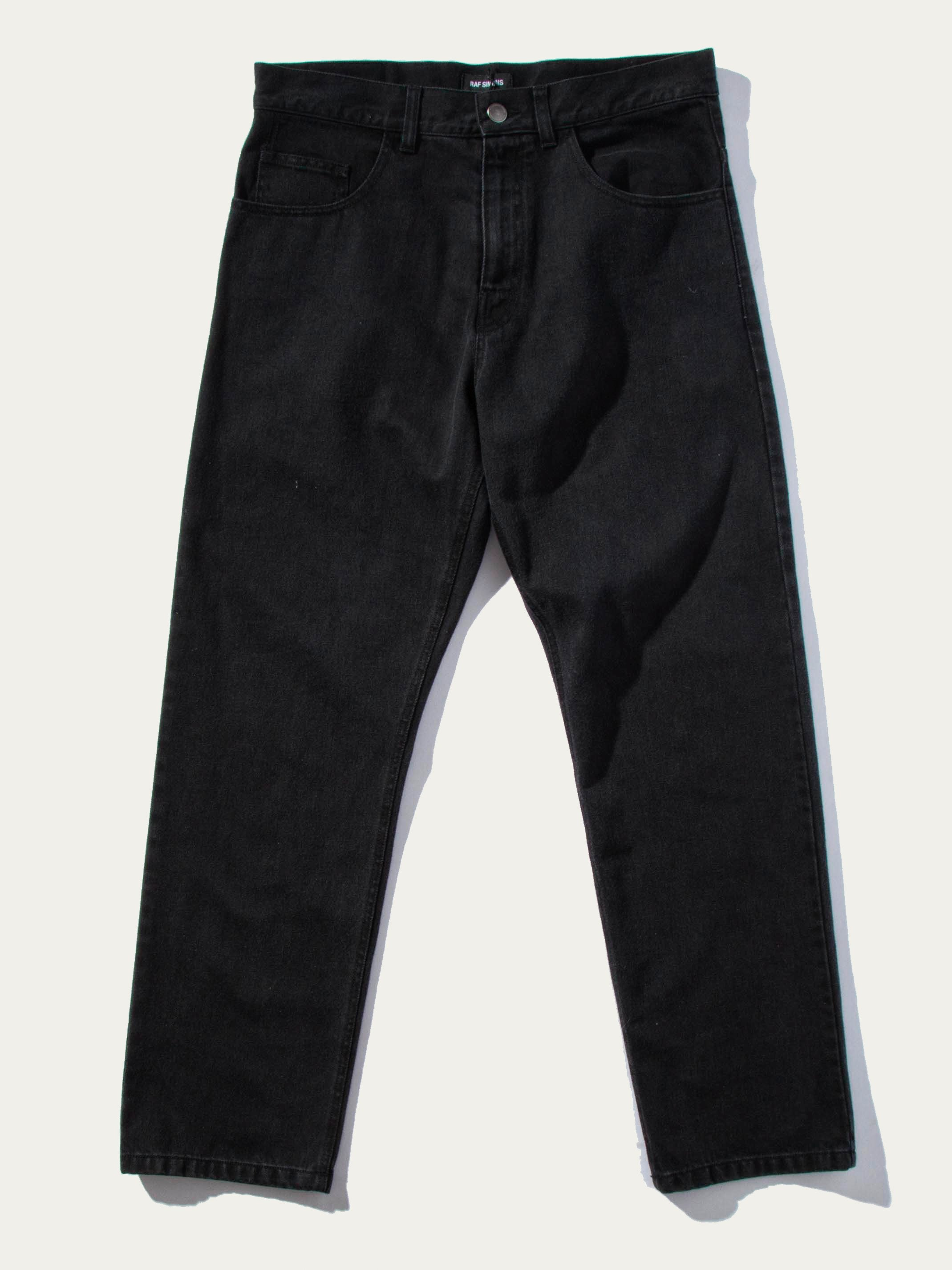 Black Low Crotch Jeans 1