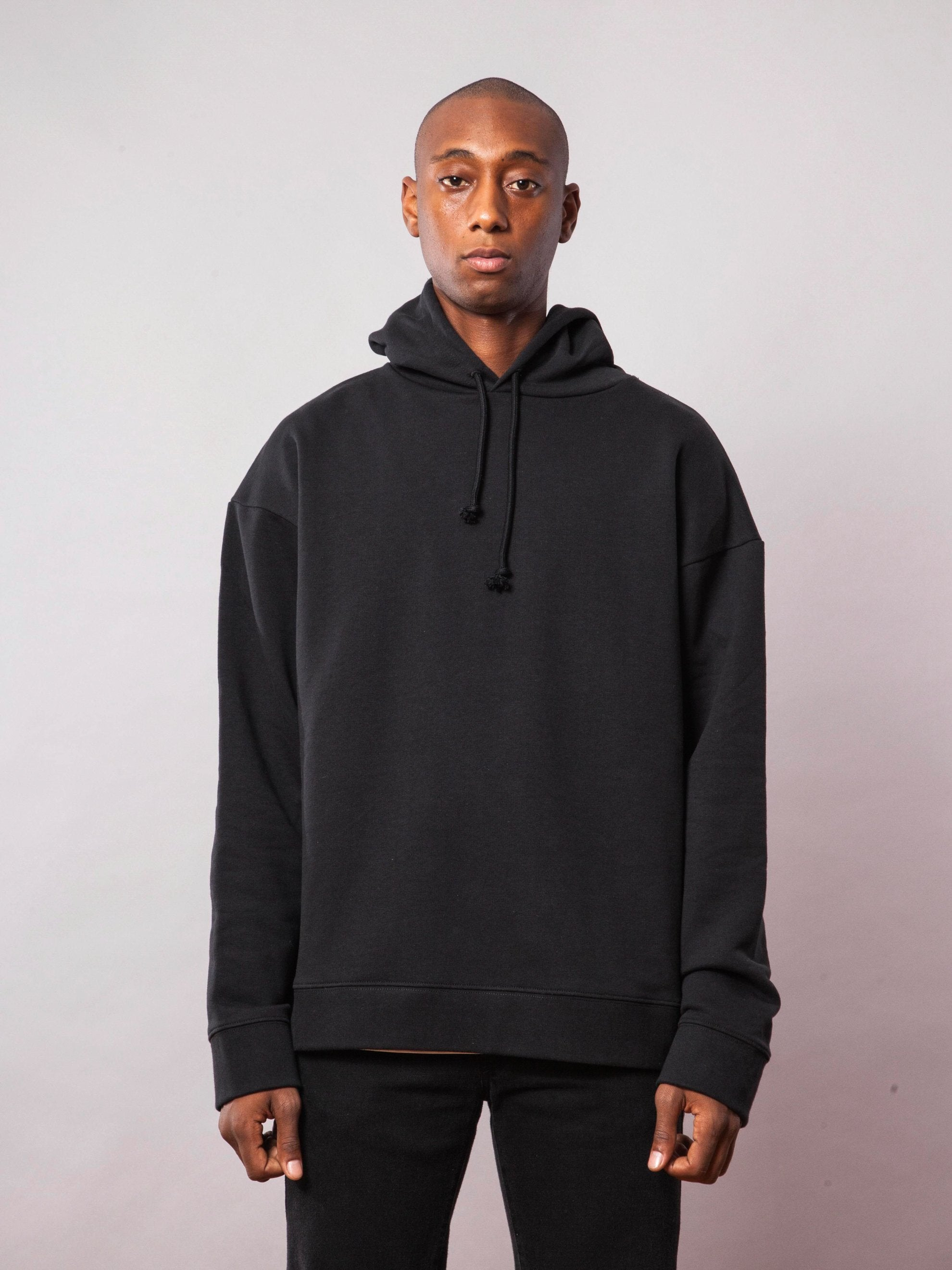 Black Any Way Out Hooded Sweatshirt 2