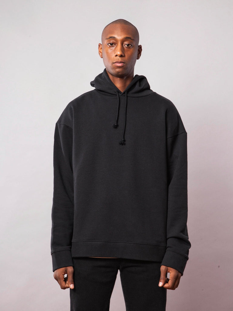 Black Any Way Out Hooded Sweatshirt 241943171081