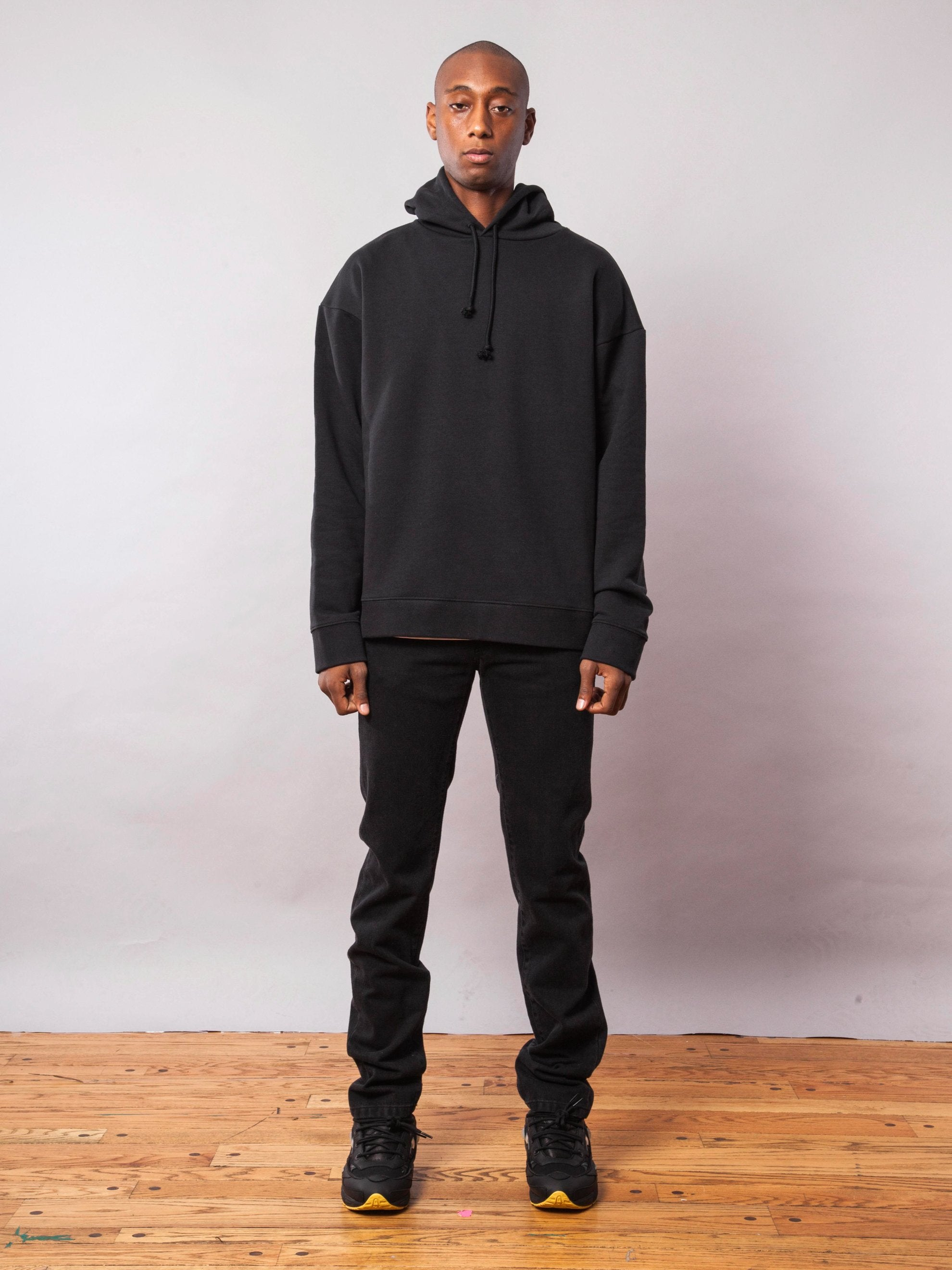 Black Any Way Out Hooded Sweatshirt 3