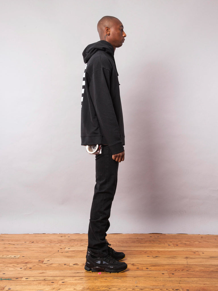 Black Any Way Out Hooded Sweatshirt 541945235465