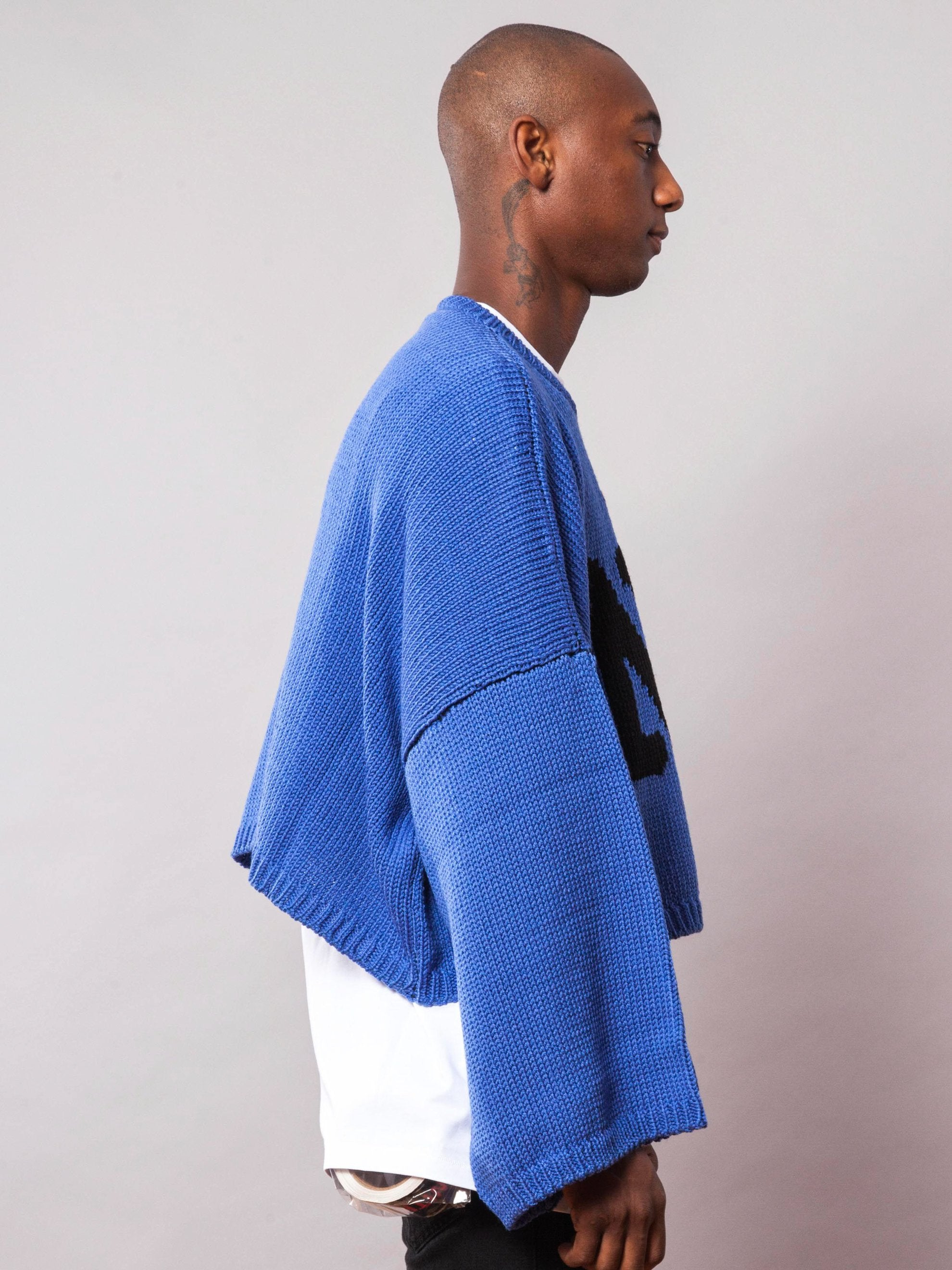 L Oversized Jacquard Sweater 4