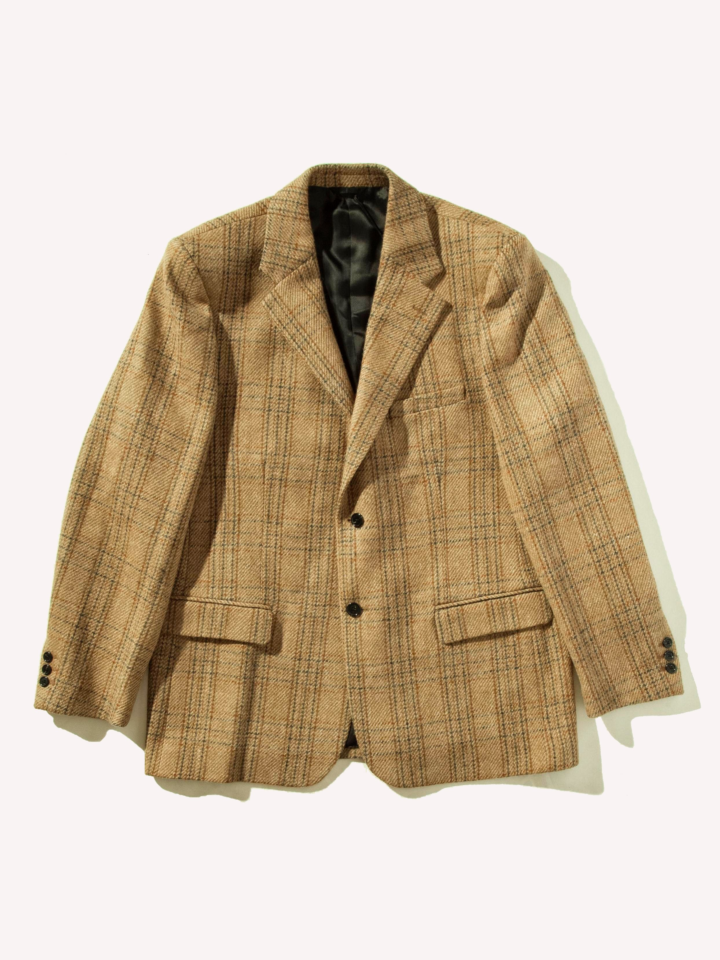 Camel Easy Fit Blazer 1